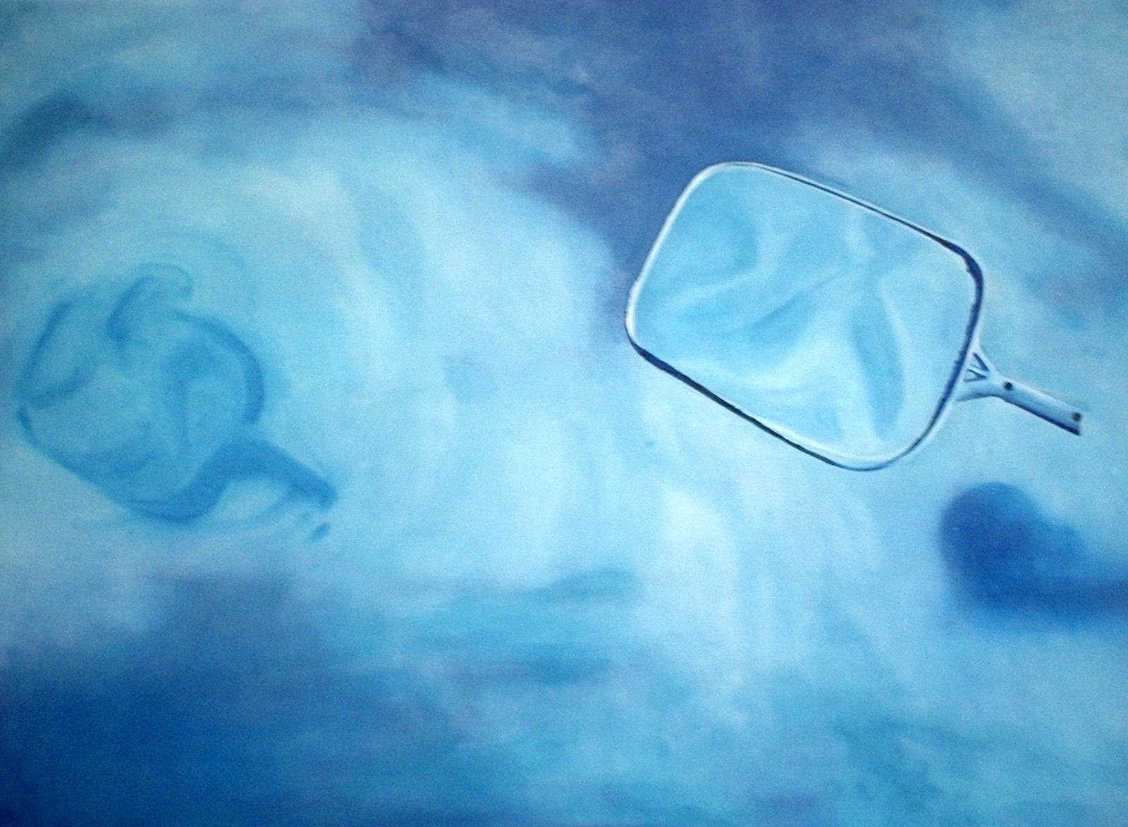 """""""Díptico objetos"""" 60 x 700 cms - 2006"""