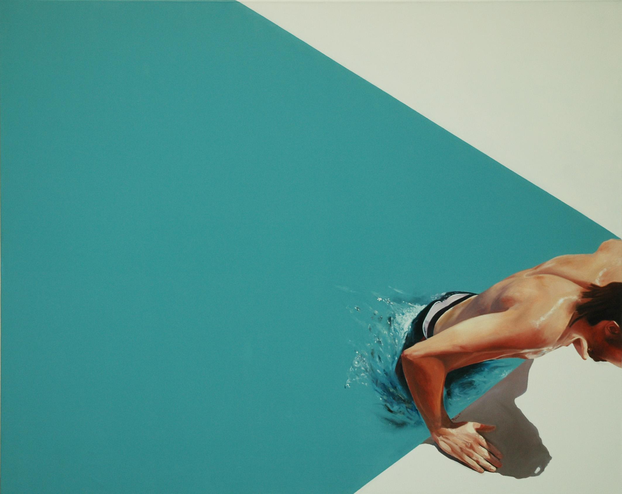 """""""Agua Fría"""" 140 x 170 - 2007."""