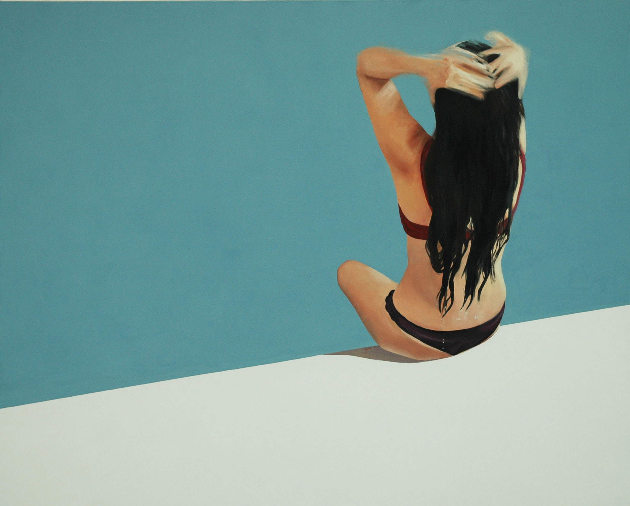 """Griselda"" 140 x 170 cms - 2007."