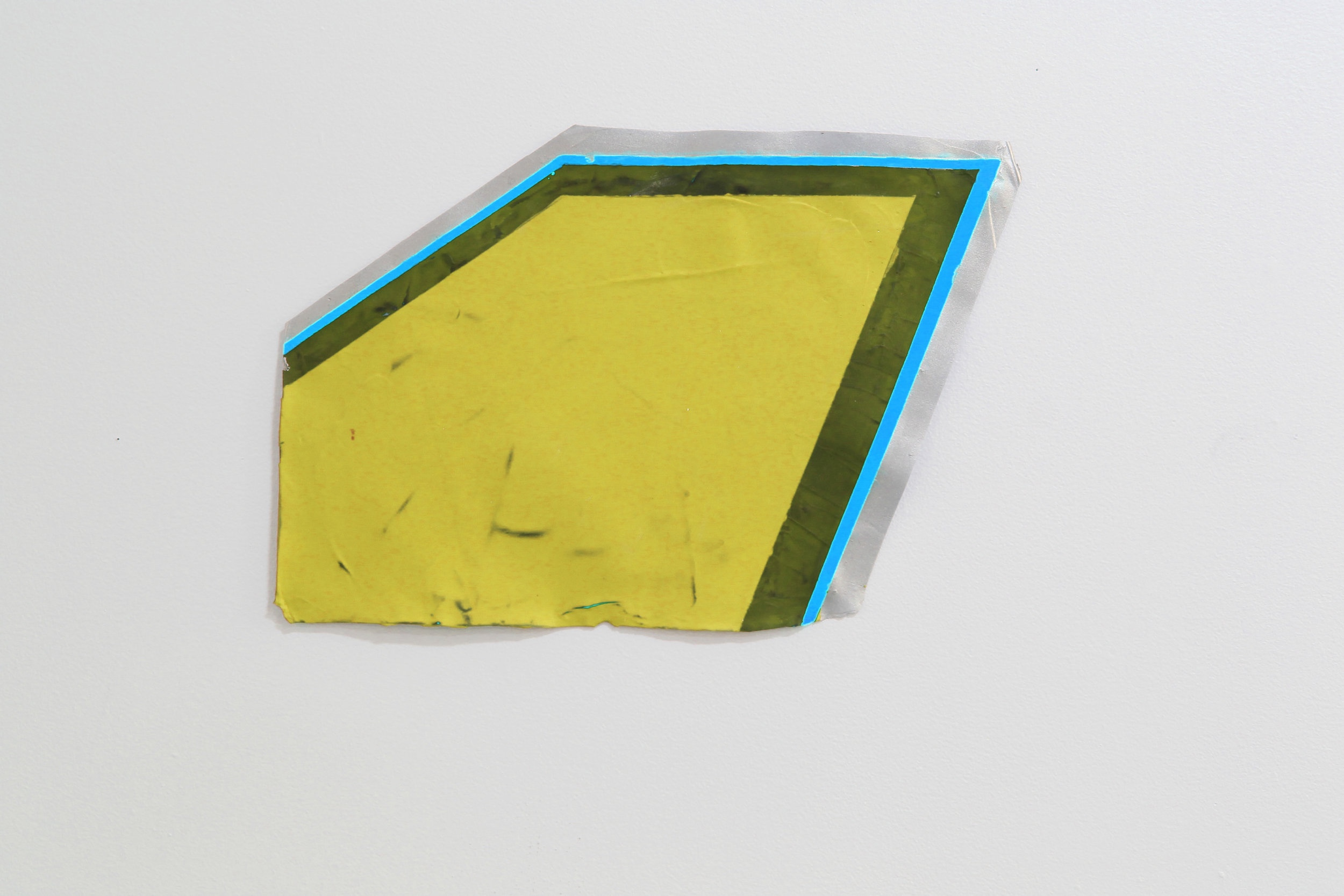 """geometric pool"" acrylic on acrylic skin, variable size"