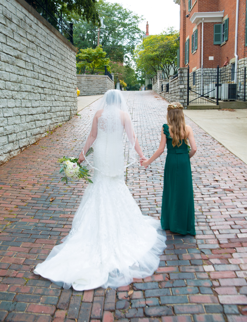 The Bride and the Flowergirl