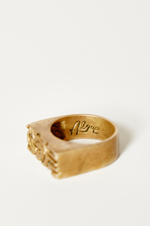 Bronze Brin Coral Ring