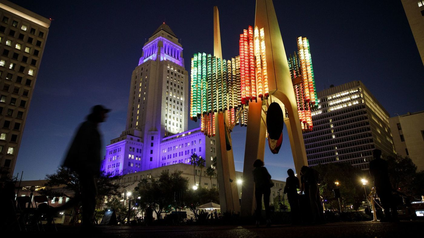 Los Angeles Times - After decades of silence, L.A.'s Triforium becomes the 'pipe organ of light' its creator meant it to be — for three nights