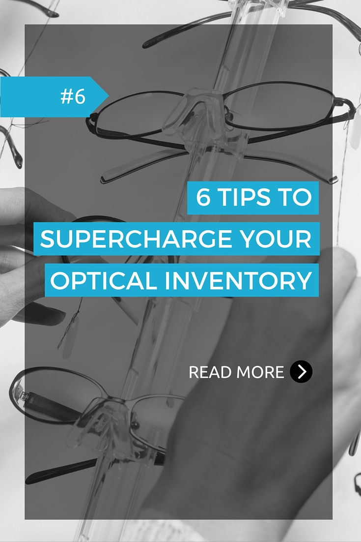 Managing your optical inventory in a way that keeps your popular and classic products replenished and keeping track of what sells (and doesn't) are just a couple of many things you need to have on top of mind as part of running your own optical practice. Find out what 6 things you need to do to get the most our of your optical inventory.