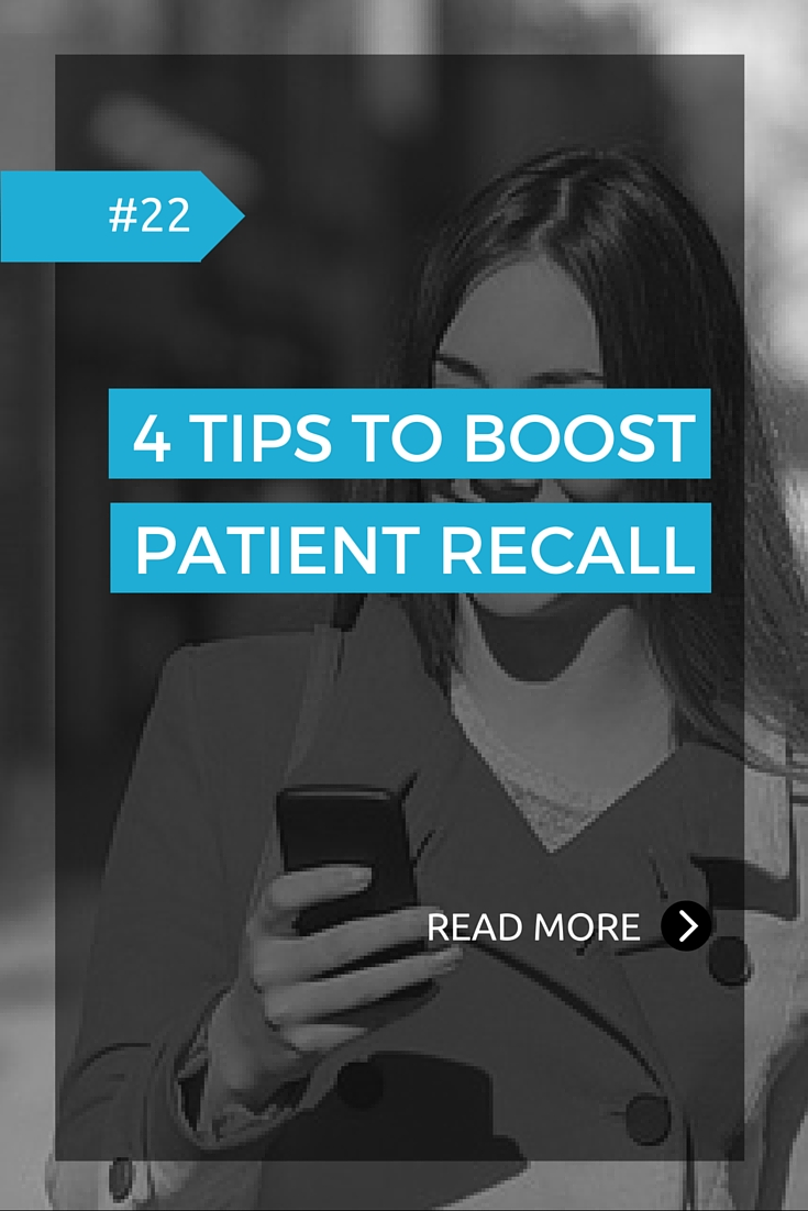 4 tips to boost patient recall | OD Online