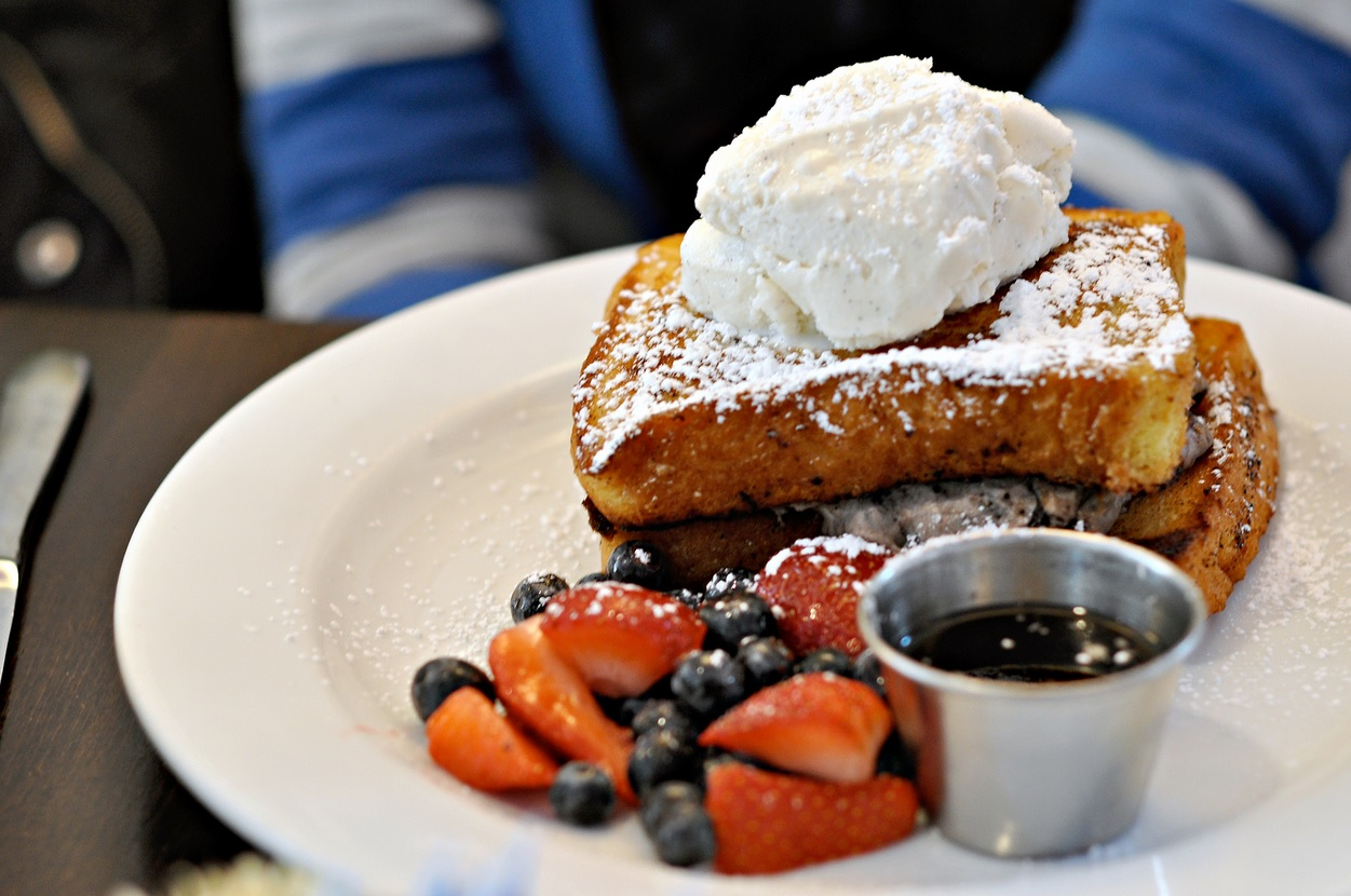 Stuffed French Toast.  Photo by   Rich L. Wang