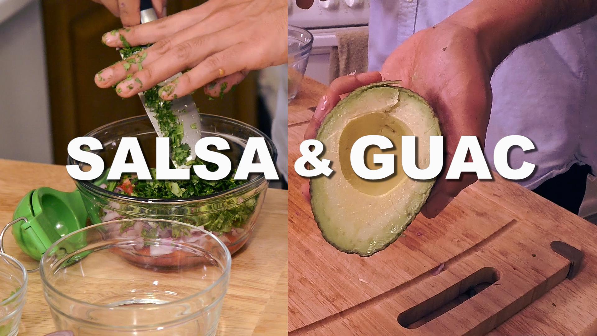 THE WORLD'S BEST GUACAMOLE & SALSA RECIPE