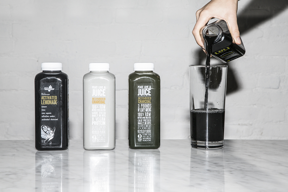 CHARCOAL ACTIVATED BEVERAGES- HERE'S TO YOUR HEALTH!