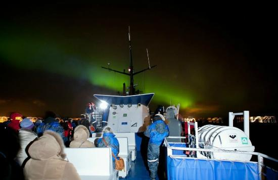 Northern Lights boat tour