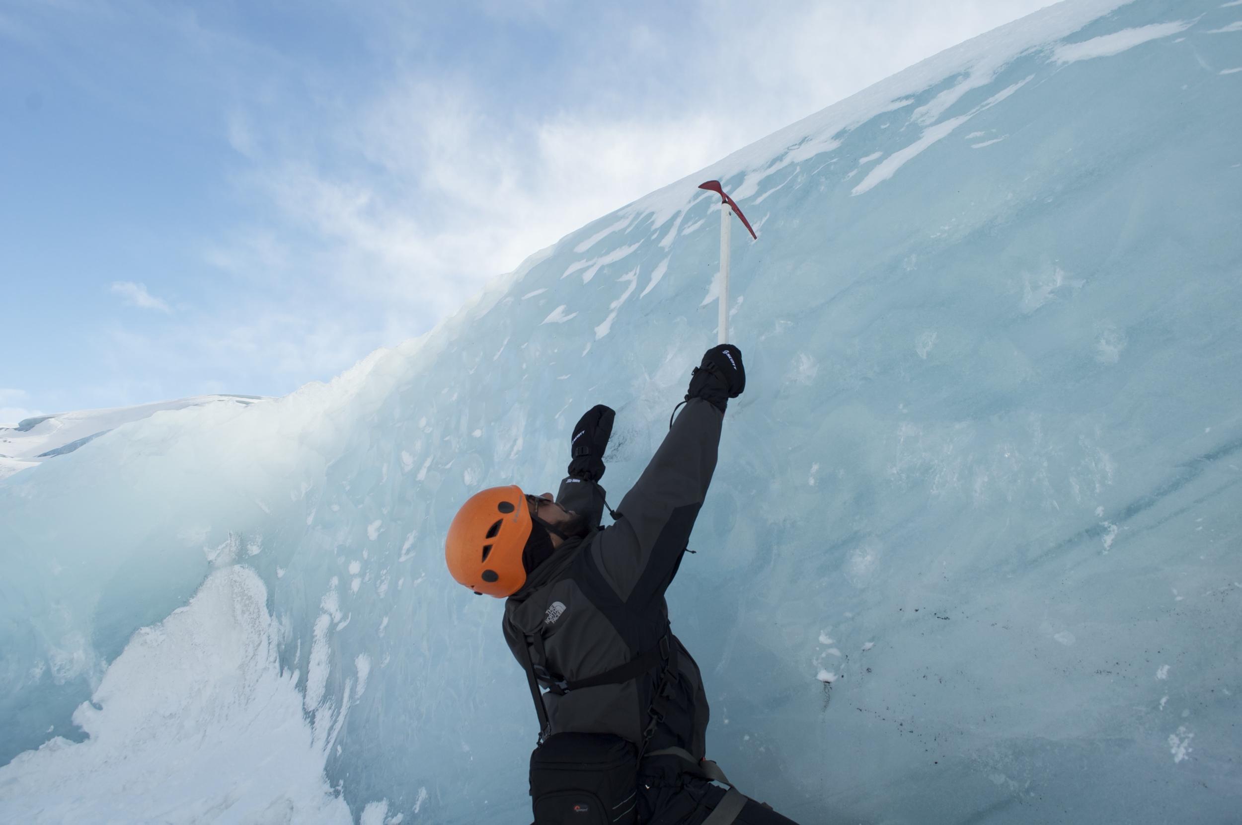 BLUE ICE GLACIER EXPERIENCE