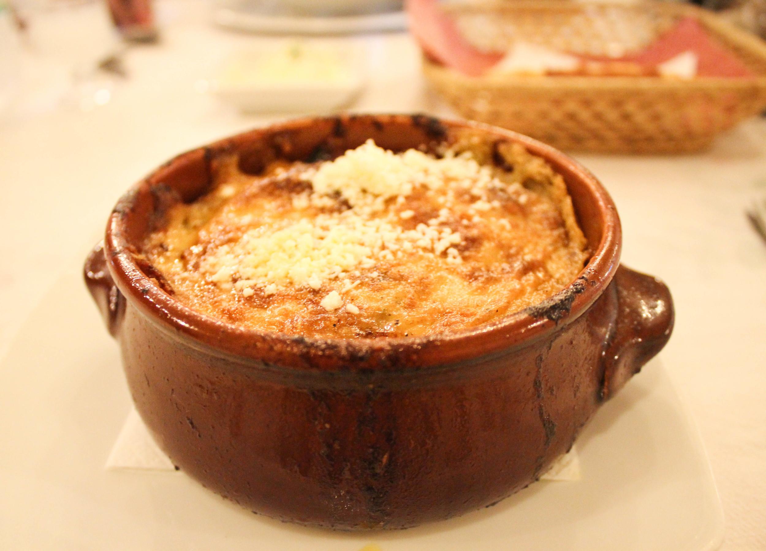 Moussaka from Karina's Taverna