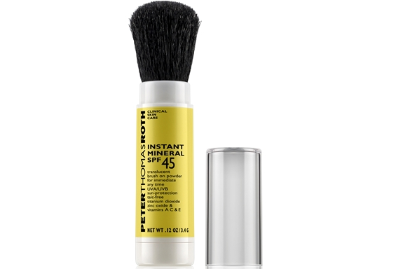 Over Make Up Sunscreen -Peter Thomas Roth Instant Mineral SPF 45 - $36.00