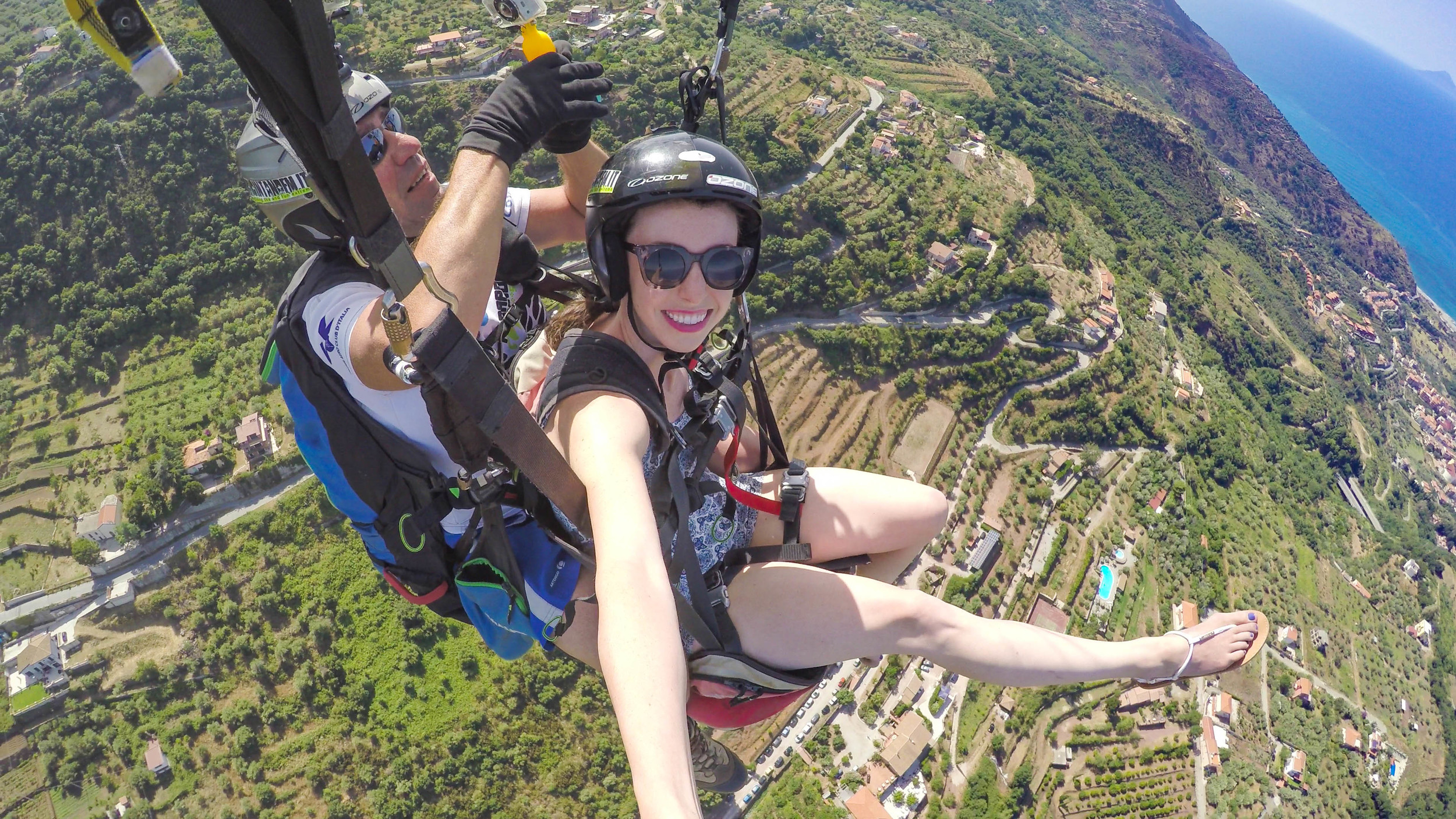 PARAGLIDING IN SICILY