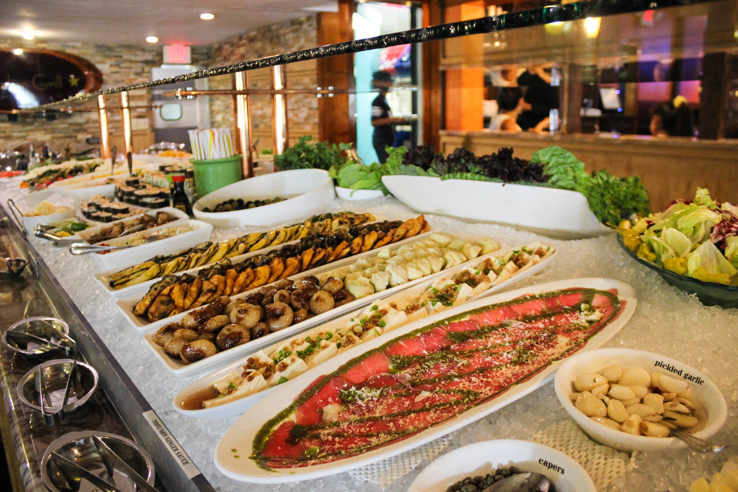 Buffet at Brazilian Grill