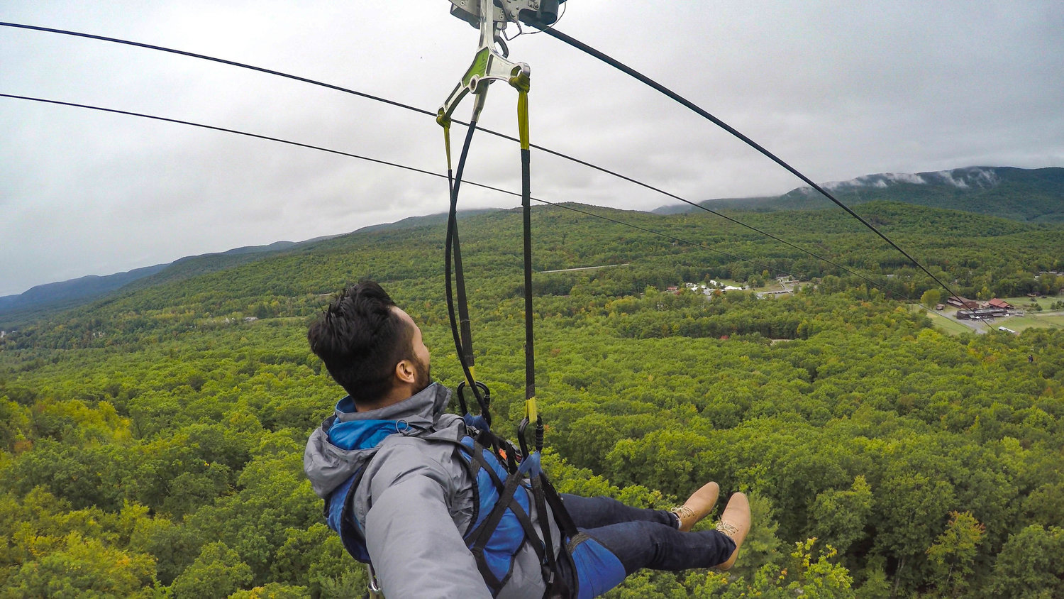 NOW YOU CAN ZIP-LINE OFF A MOUNTAIN
