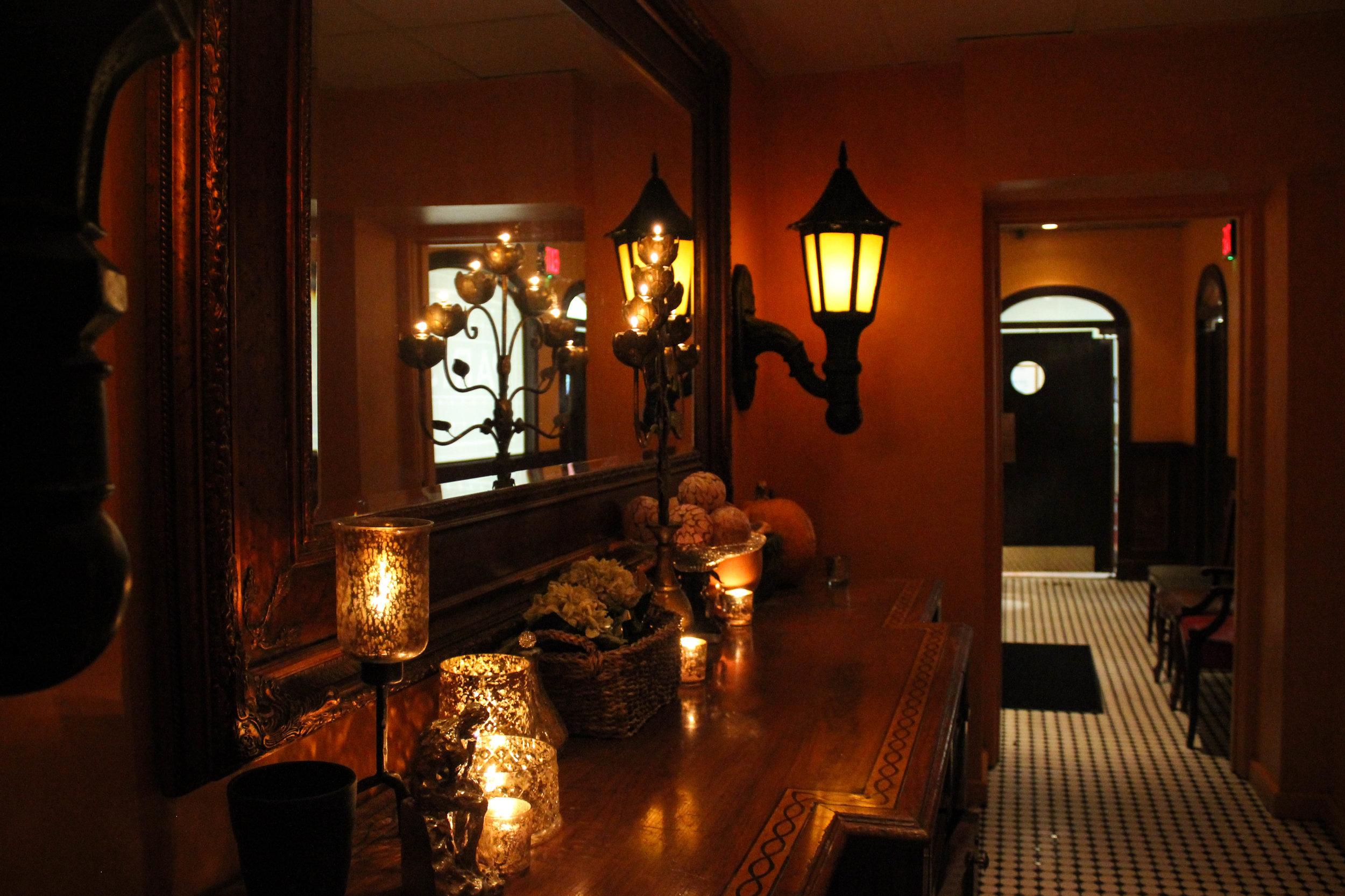 """""""Secret"""" hallway to the Jazz Cafe"""