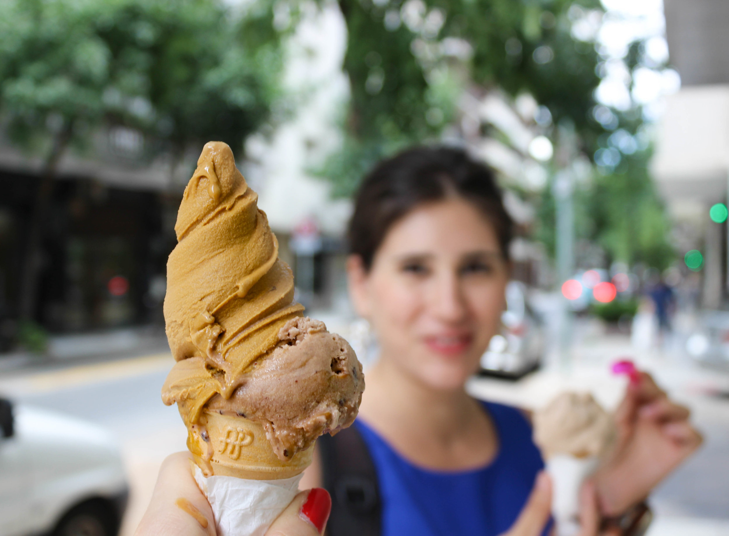 Dulce de Leche ice cream from Valance