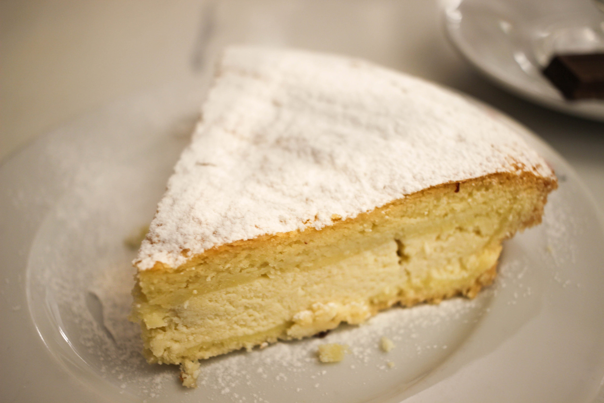 We also enjoyed the torta de ricota from Los 36 Billares