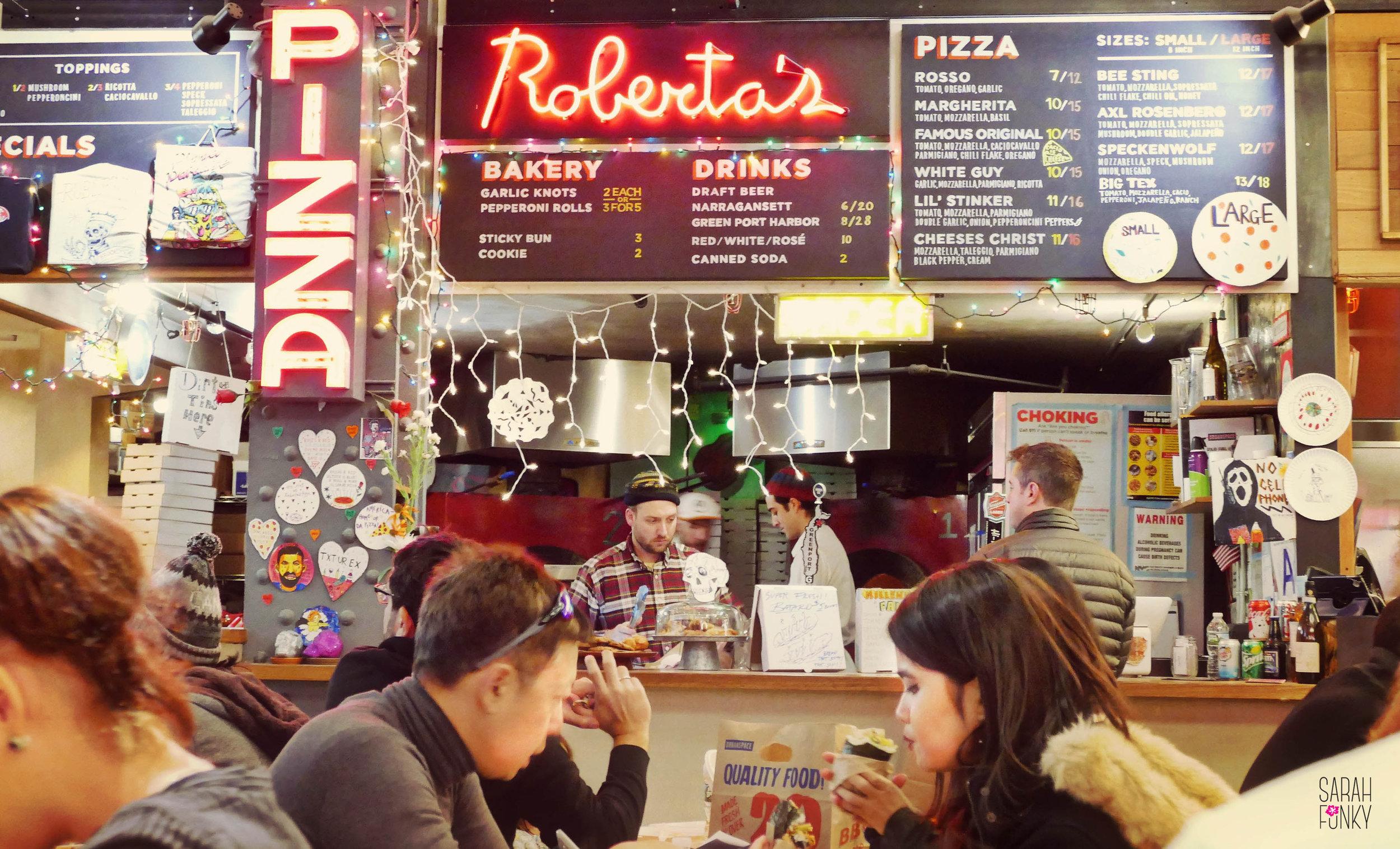 Roberta's in Urbanspace