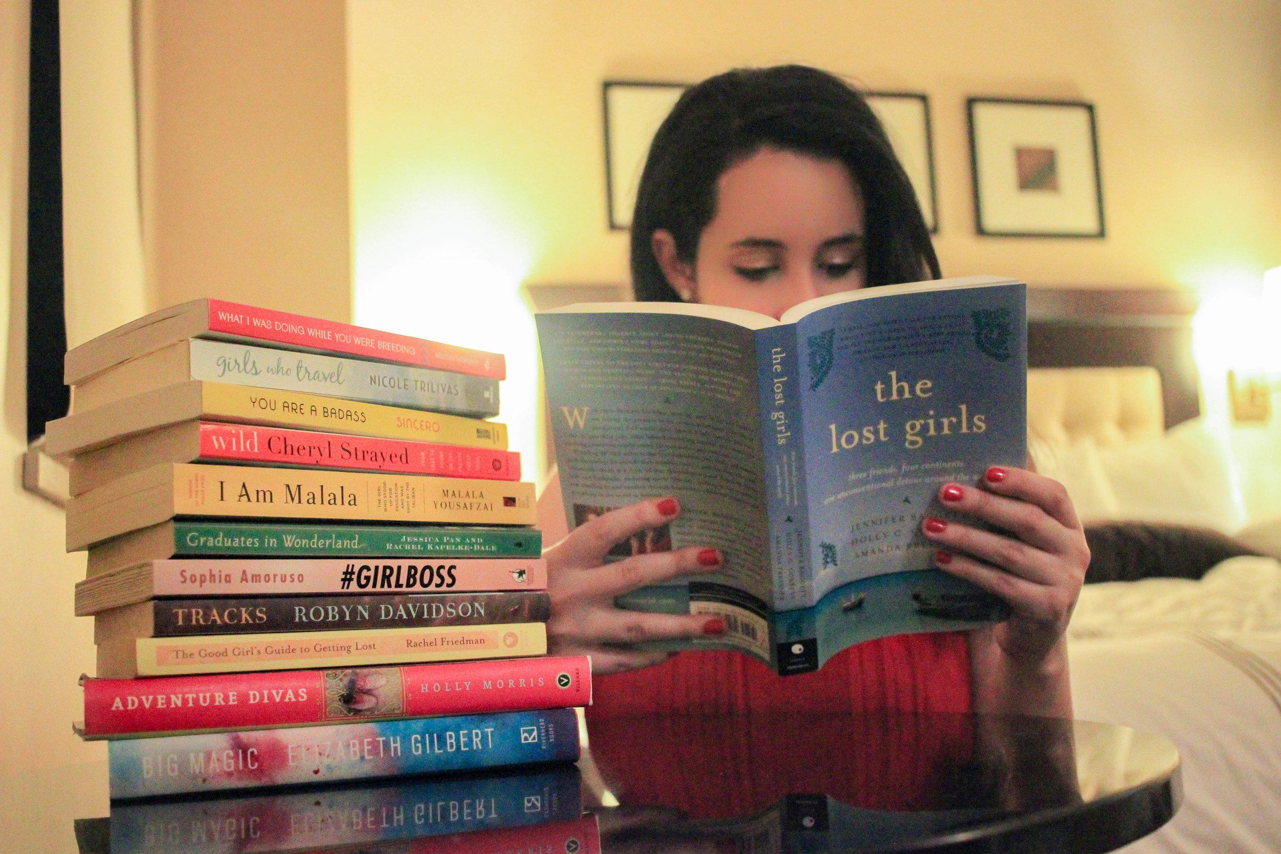 Jen reads  The Lost Girls.