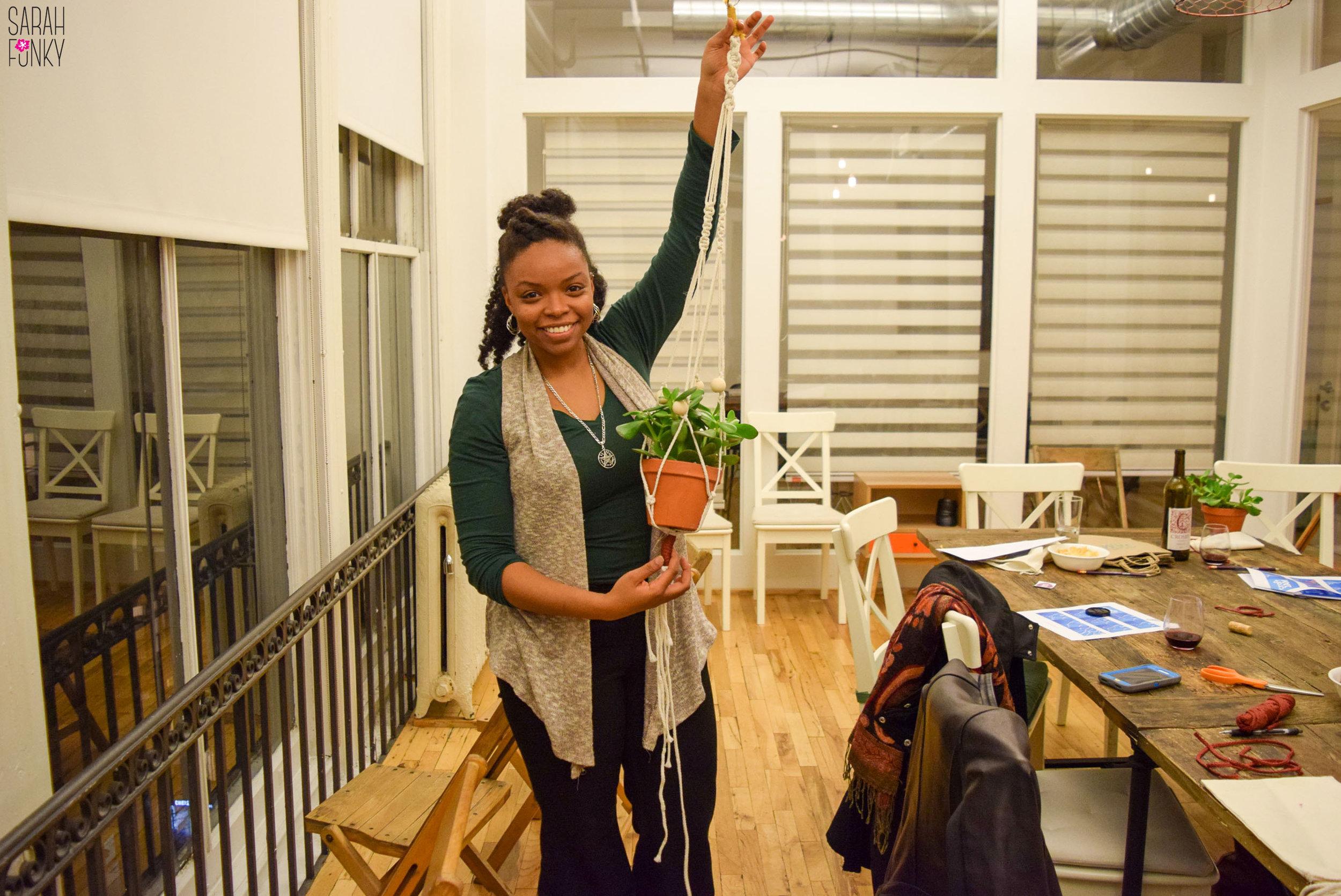 Danielle Desir A New Proud Plant Mom!
