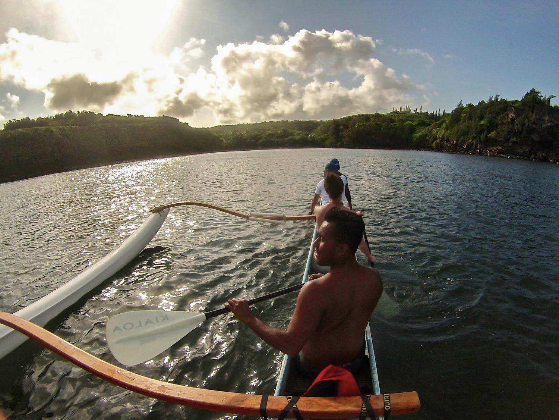 EXPERIENCE AN AUTHENTIC HAWAIIAN OUTRIGGER CANOE   Maui, Hawaii