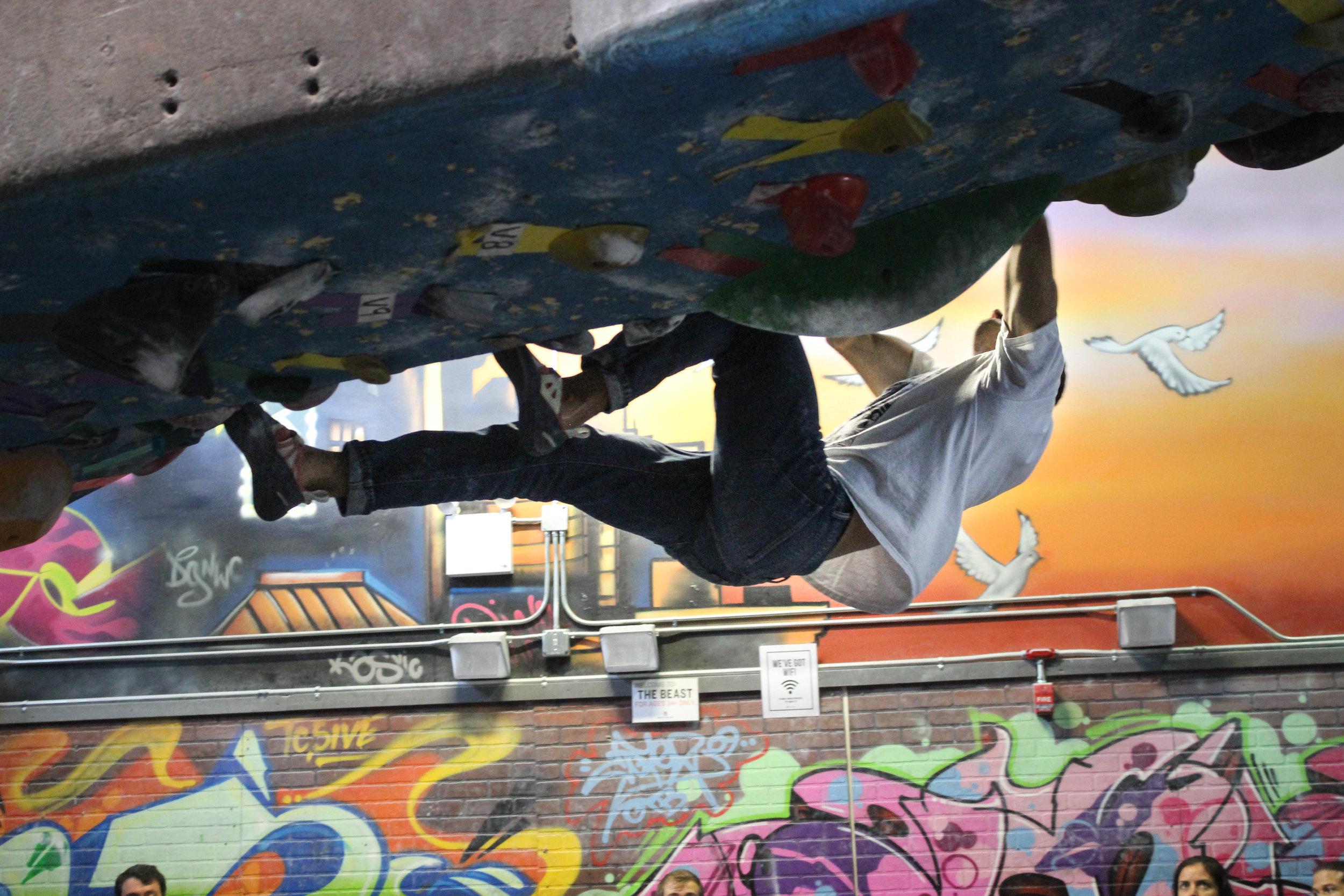 INDOOR ROCK CLIMBING: A POWERFUL & FUN WAY TO GET IN SHAPE   Brooklyn, New York