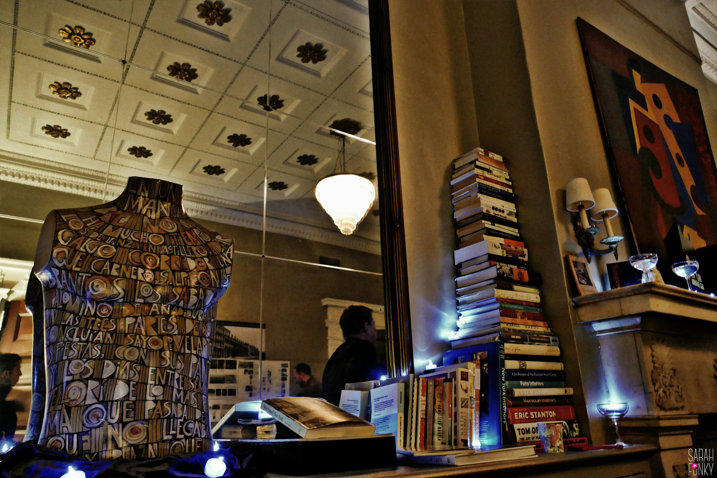 Inside the pop-up Gilded Age speakeasy near Astor Place.