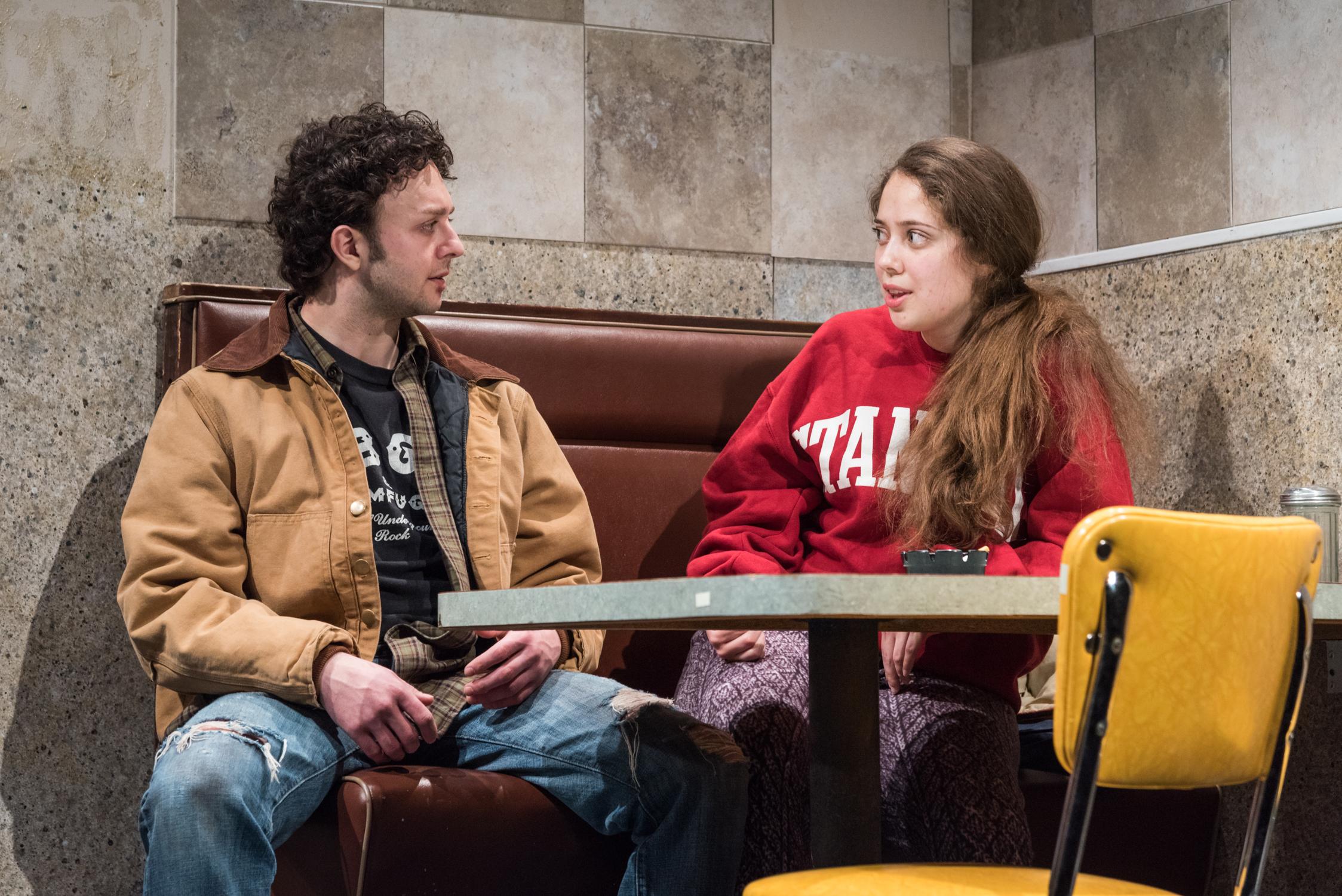 James Kautz as Adam, Rachel Franco as Tara. Photo credit: Russ Rowland