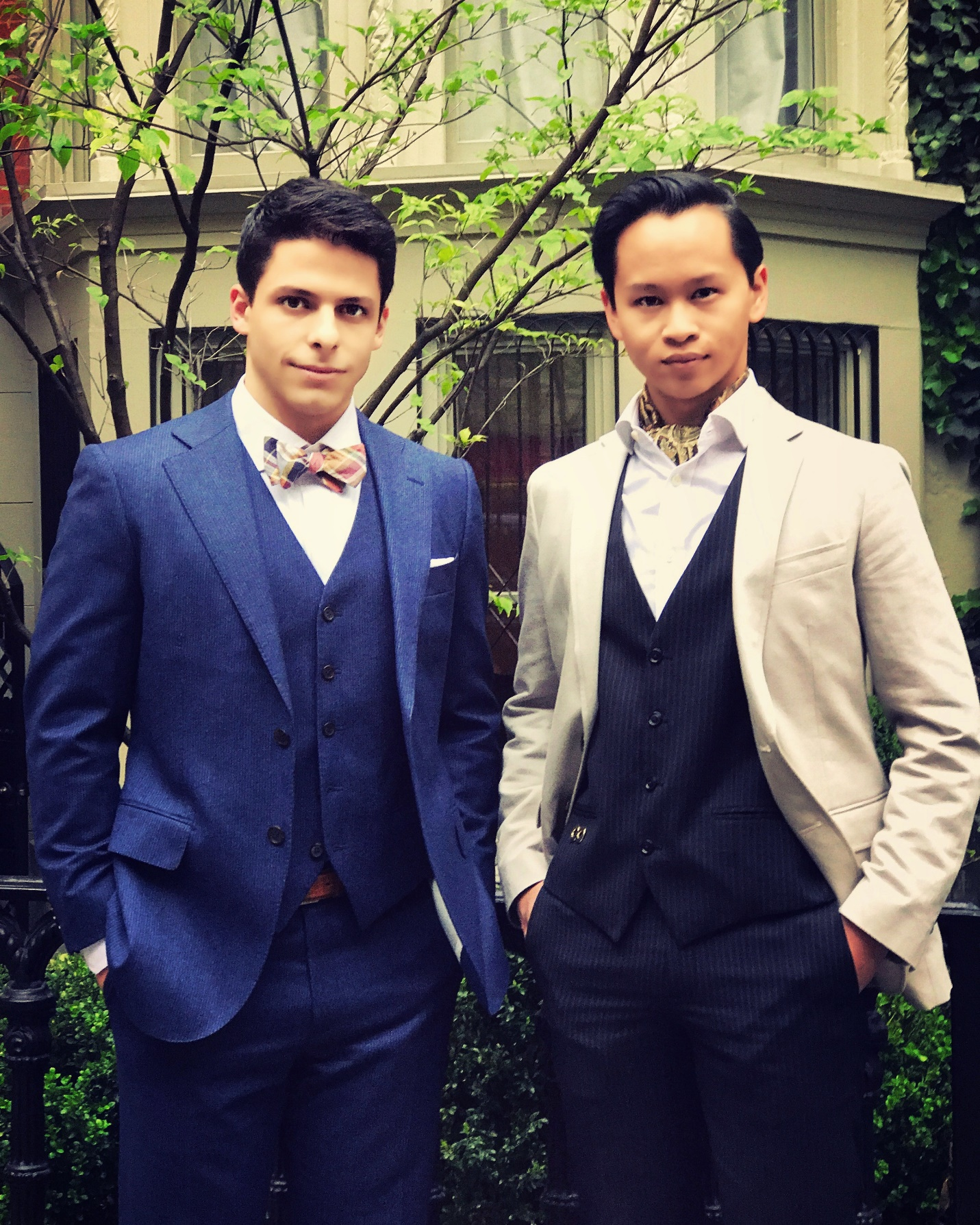 Giovanni and Alex, initiates-in-waiting.