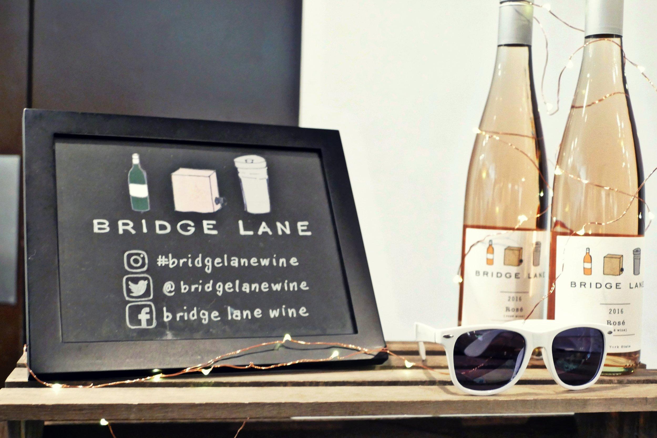 Bridge Lane wine's Cabernet Franc rosé