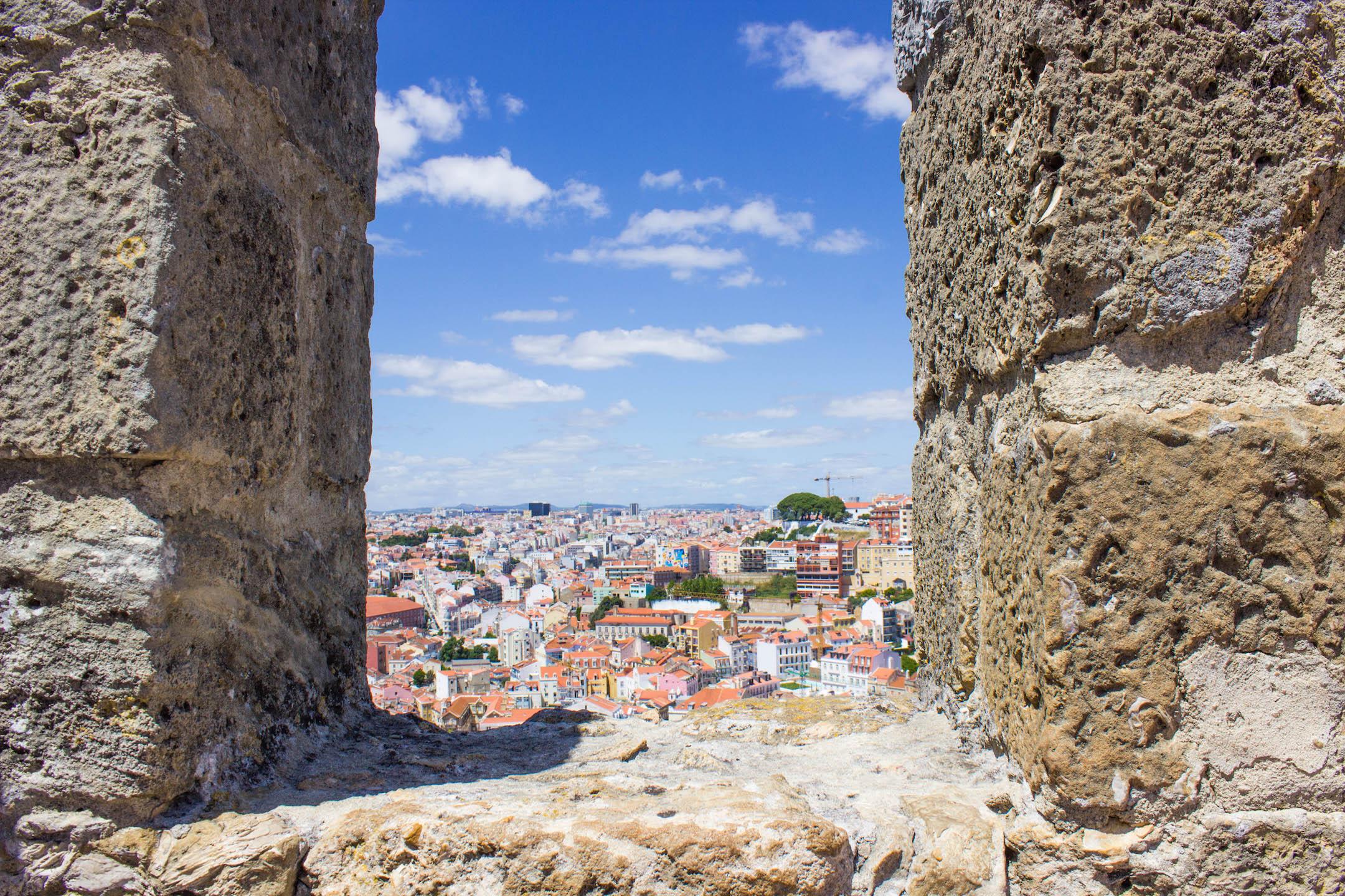 View from Castelo de Sao Jorge