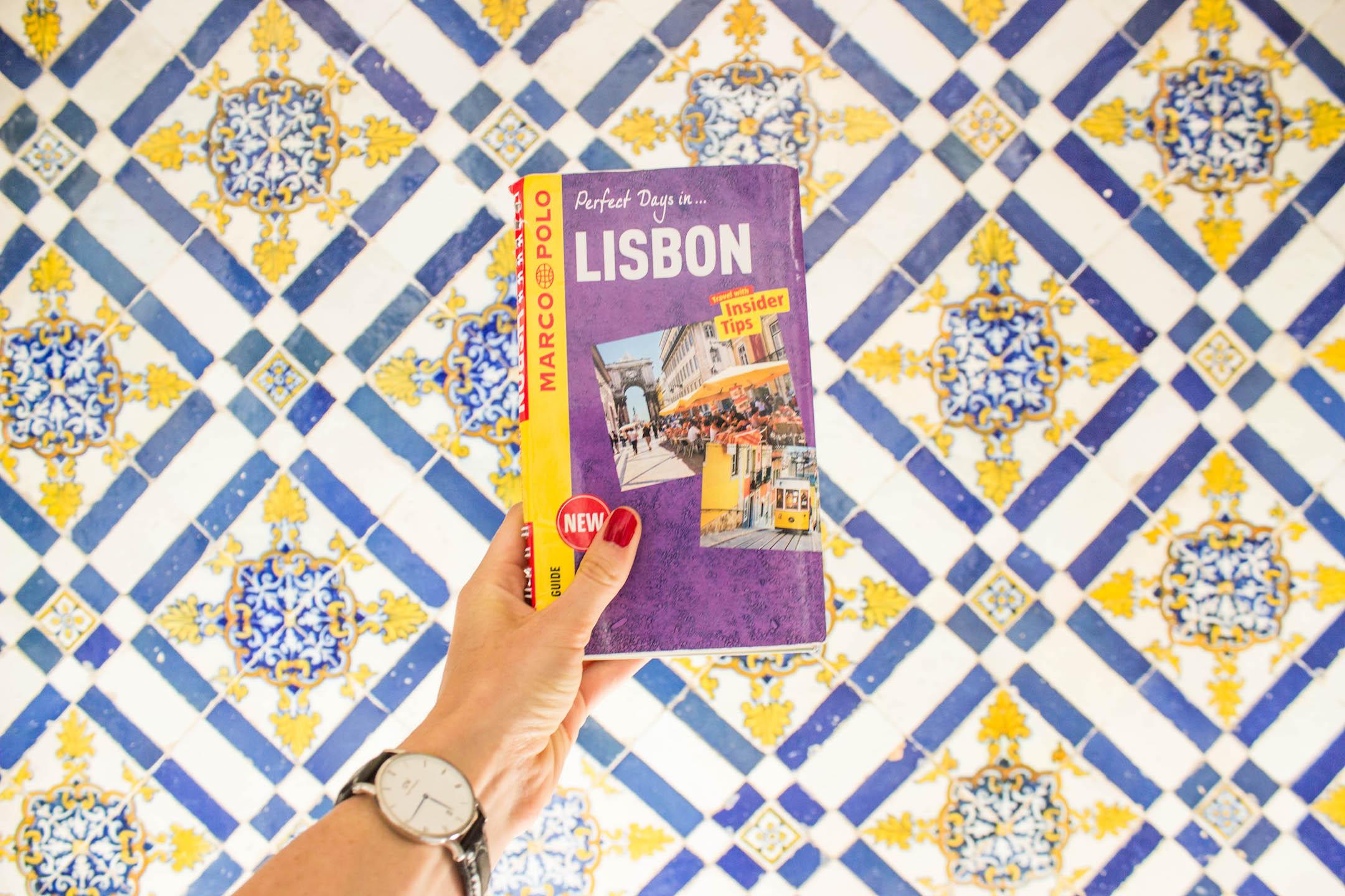 My Marco Polo Lisbon guidebook