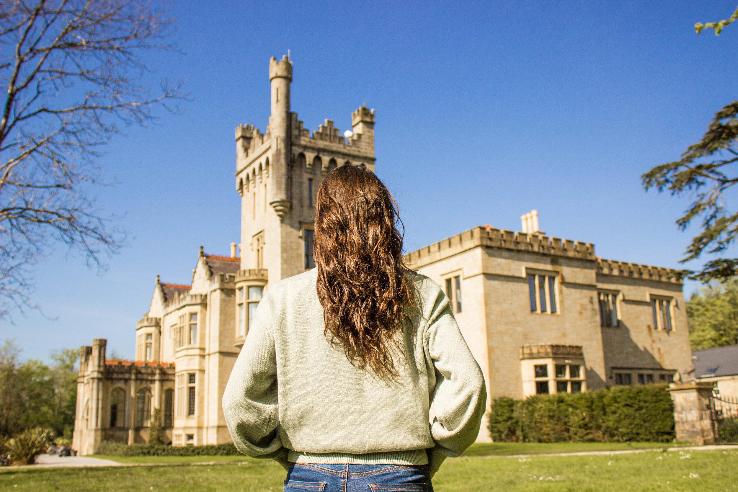 The beautiful Lough Eske Castle