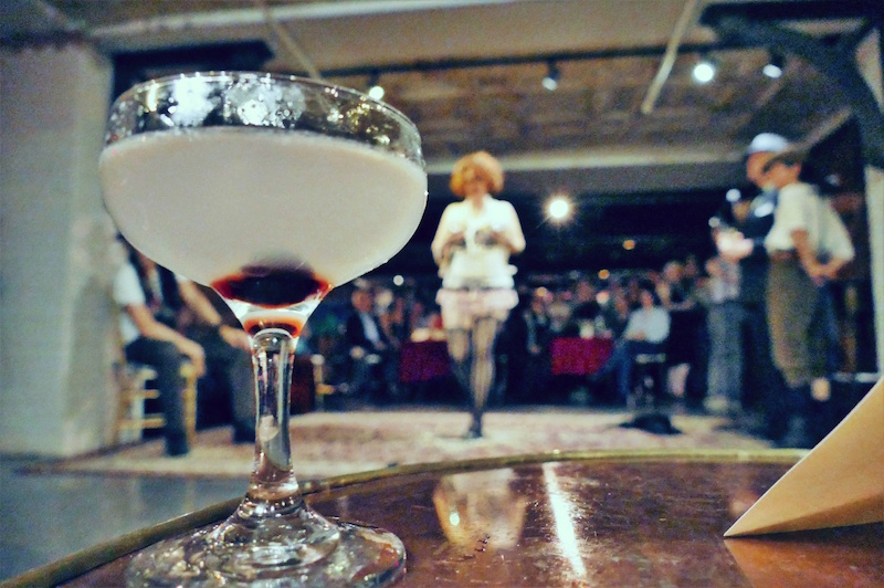 The Corpse Reviver, a cocktail fitting of the night's events