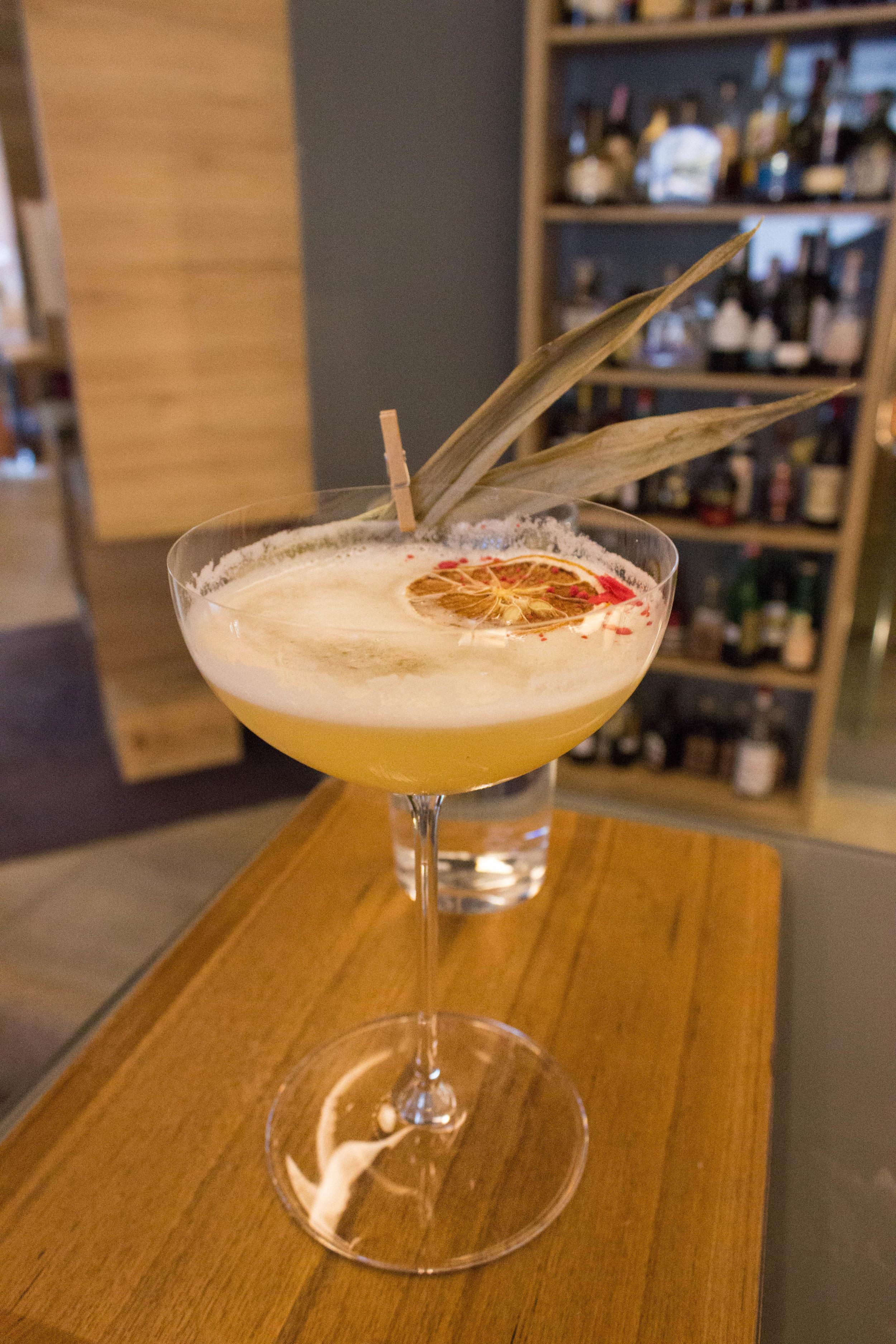 Custom cocktail at Noel