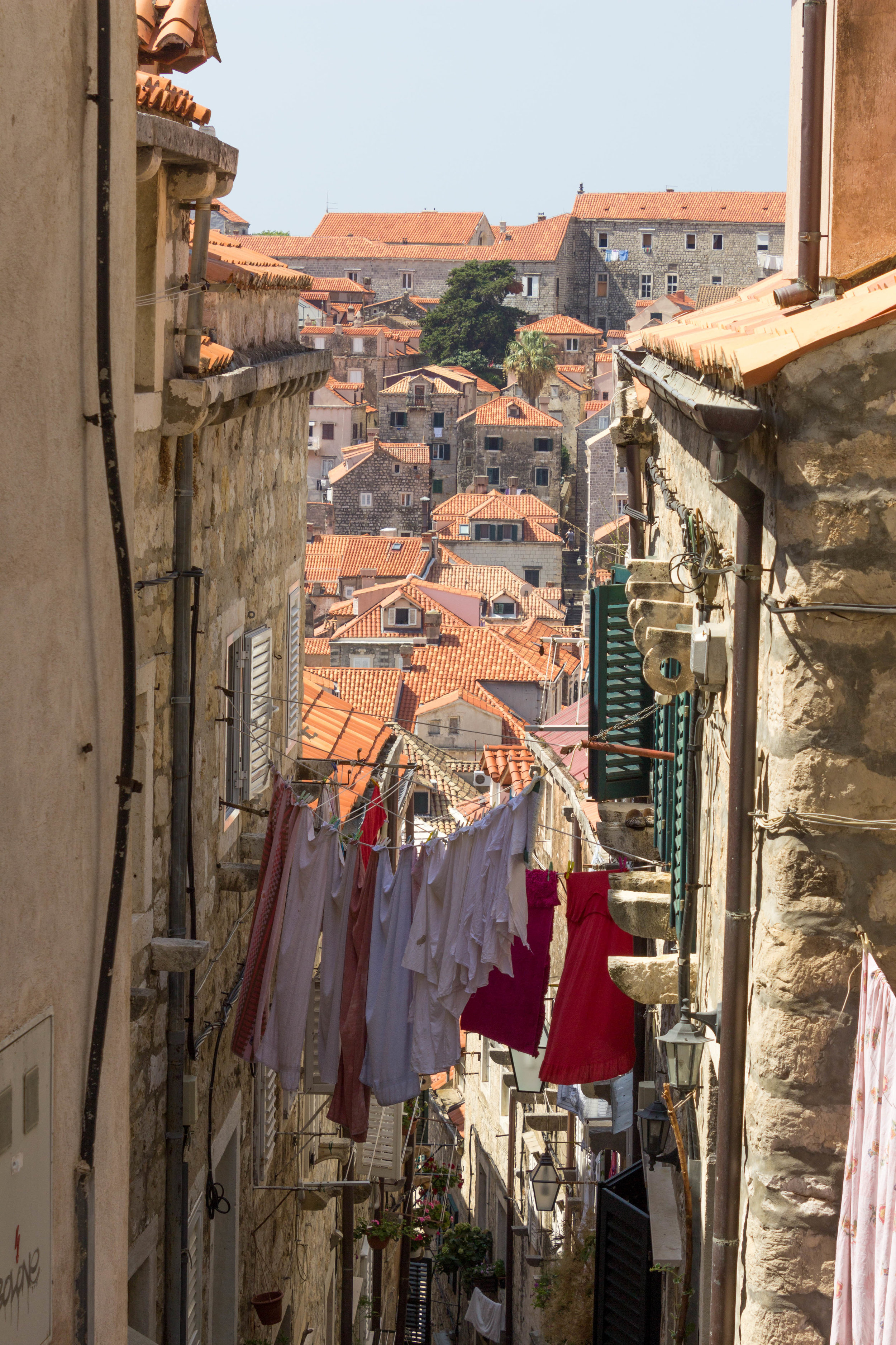The streets of Dubrovnik