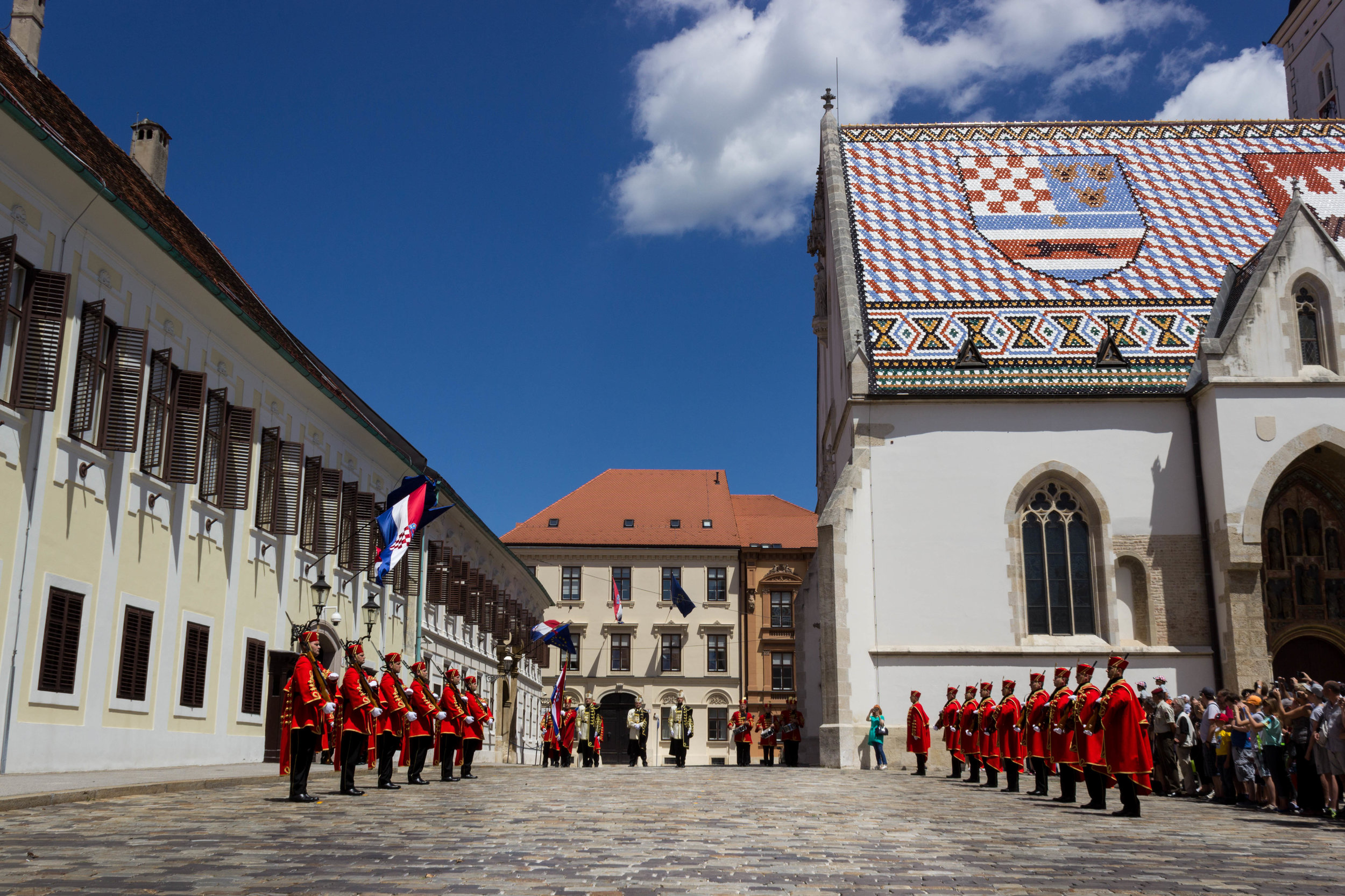 Changing of the Guards in Zagreb