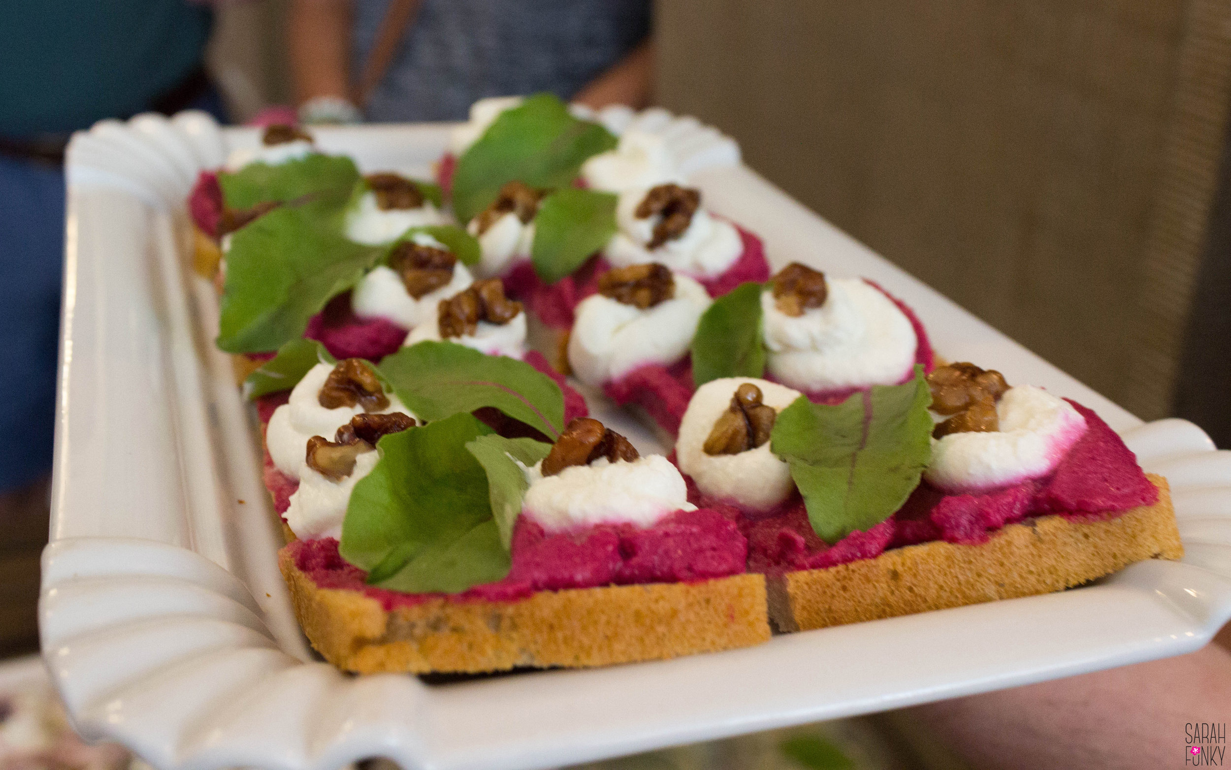 Chlebikcy (open-faced sandwiches) with a gourmet twist