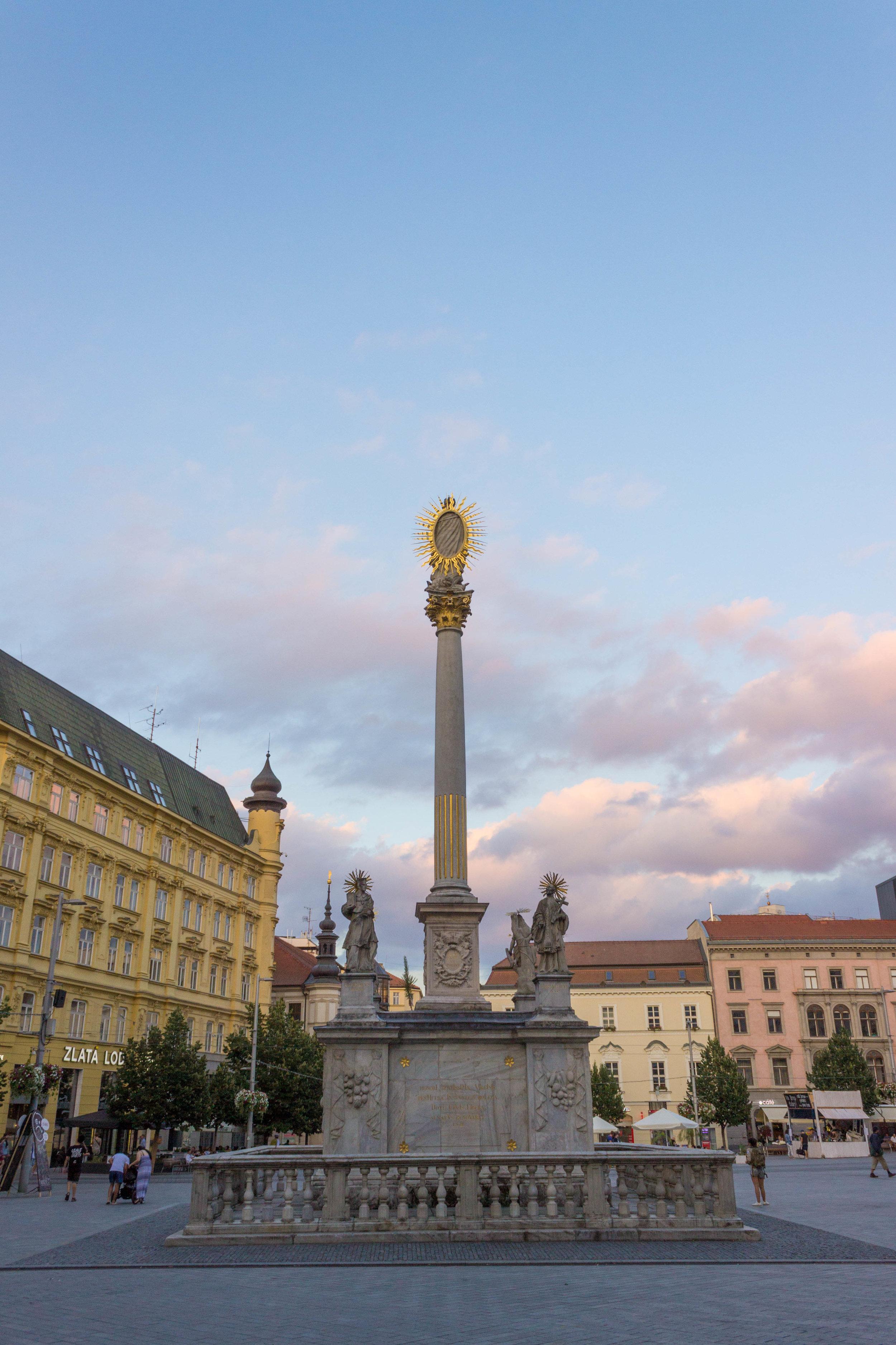 City center of Brno