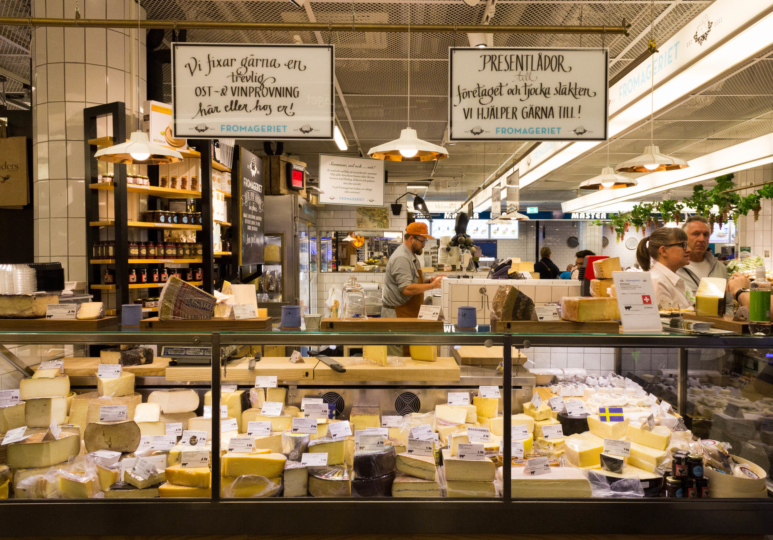 Fromageriet, a store selling Nordic cheeses
