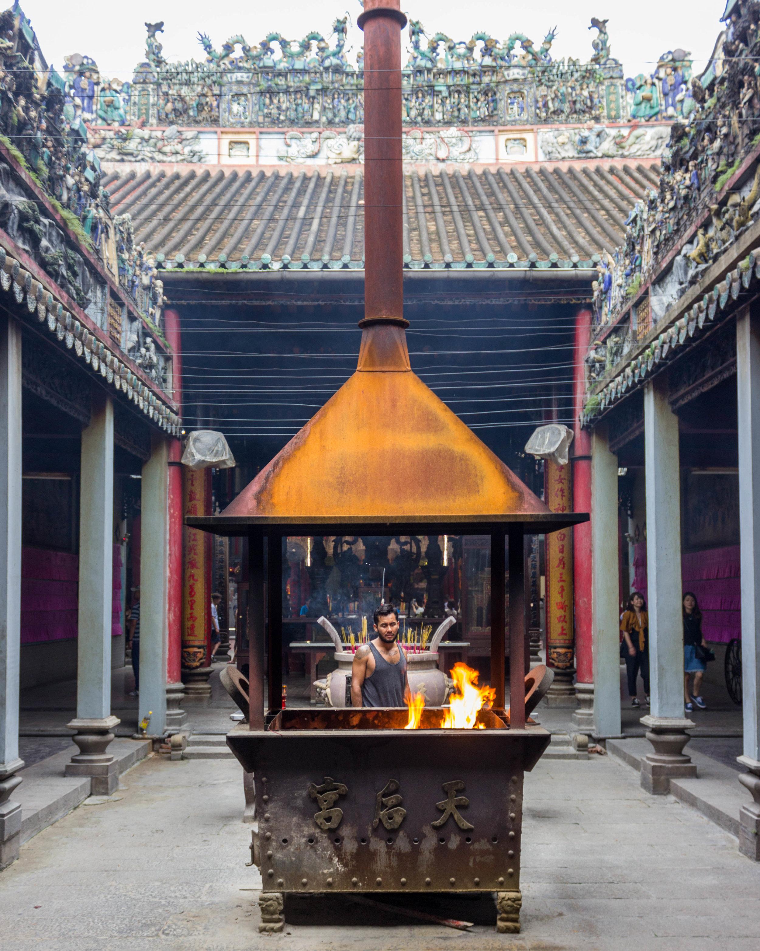 The Nghia An Hoi Quan Temple