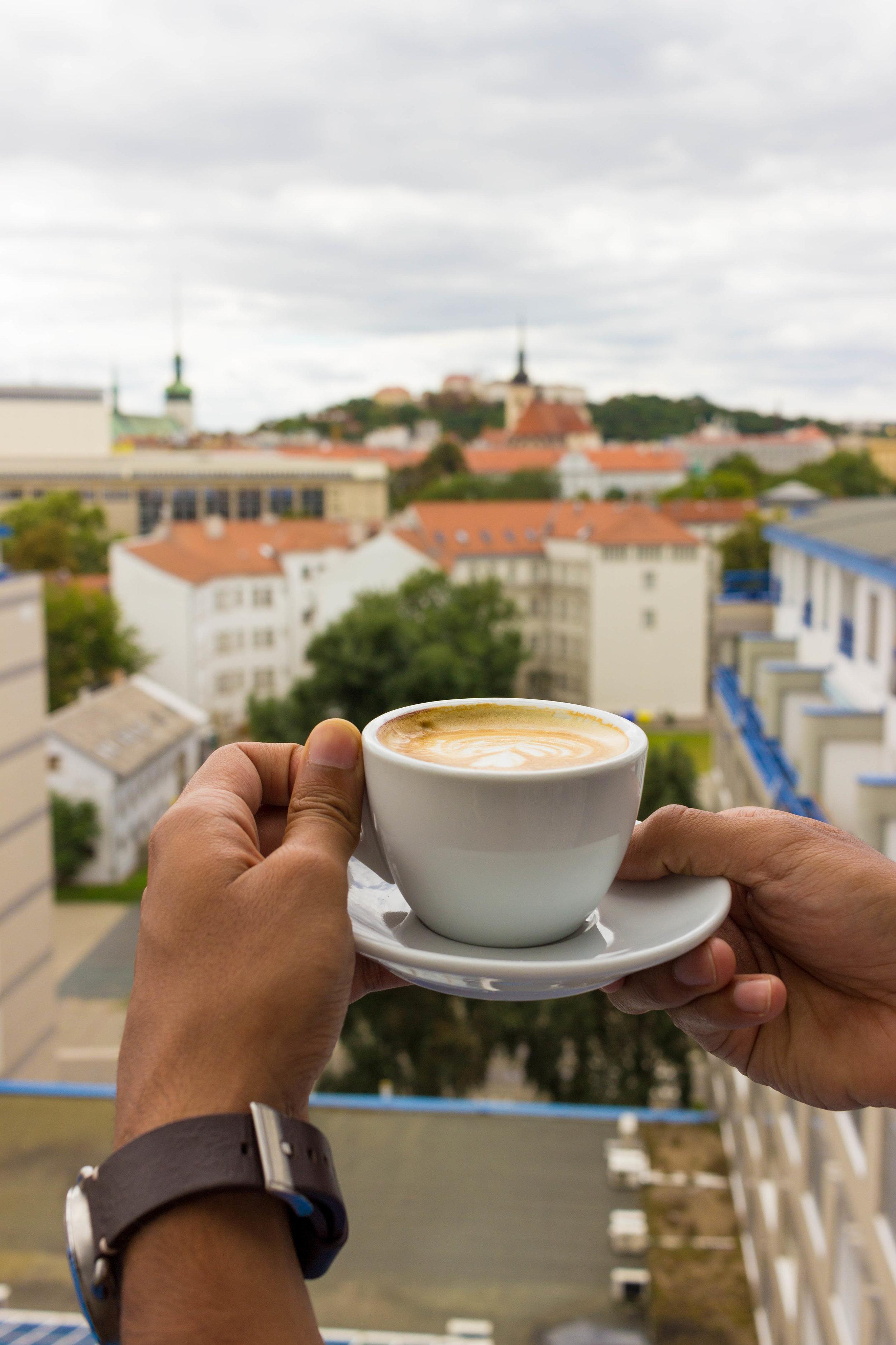Coffee in Brno