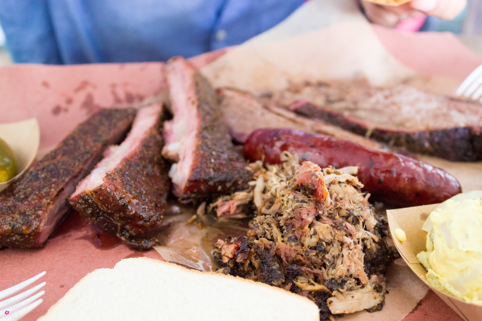 A little bit of everything at Franklin's BBQ