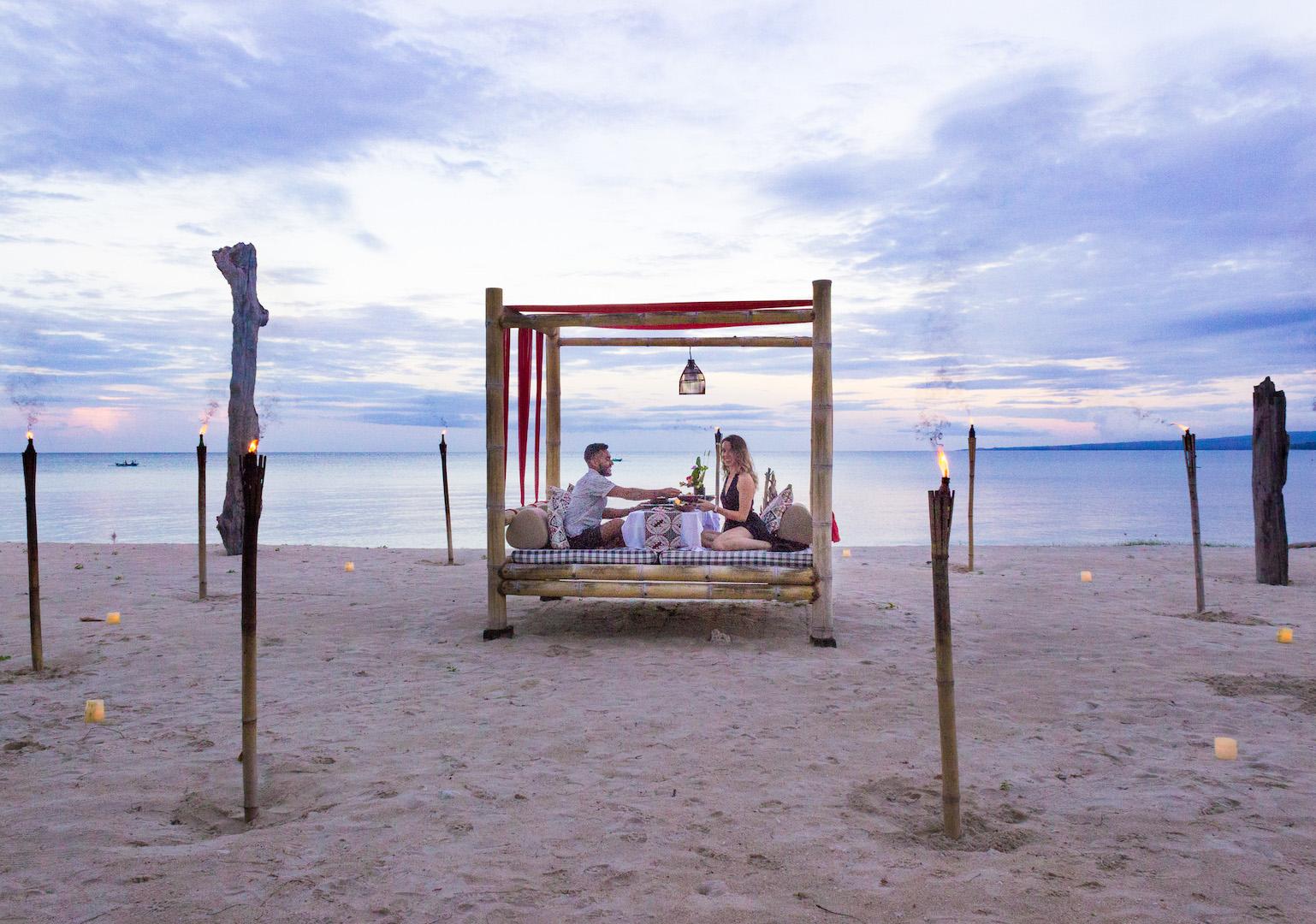 Dinner on Lombok