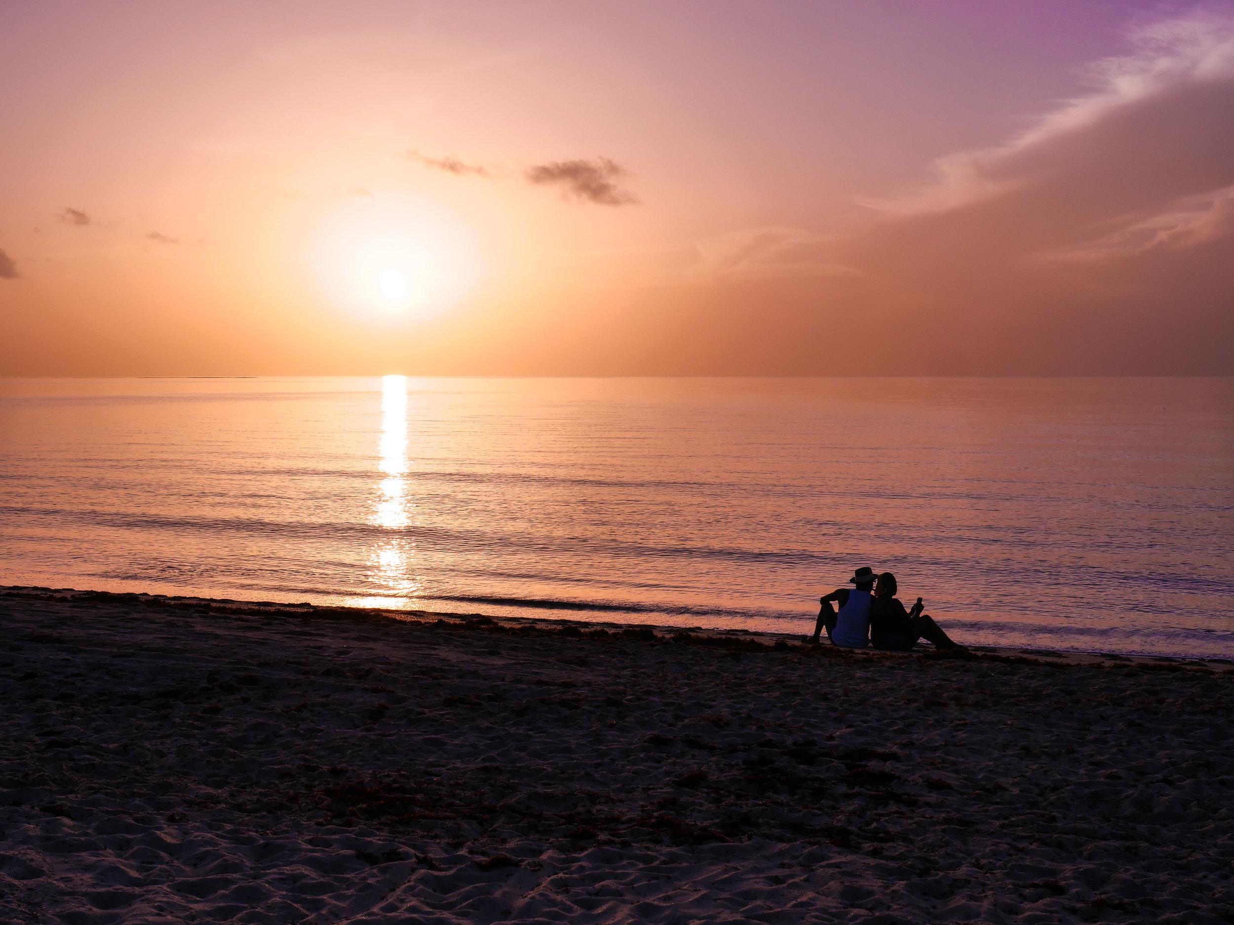 Sunrise at Plunge Beach Hotel