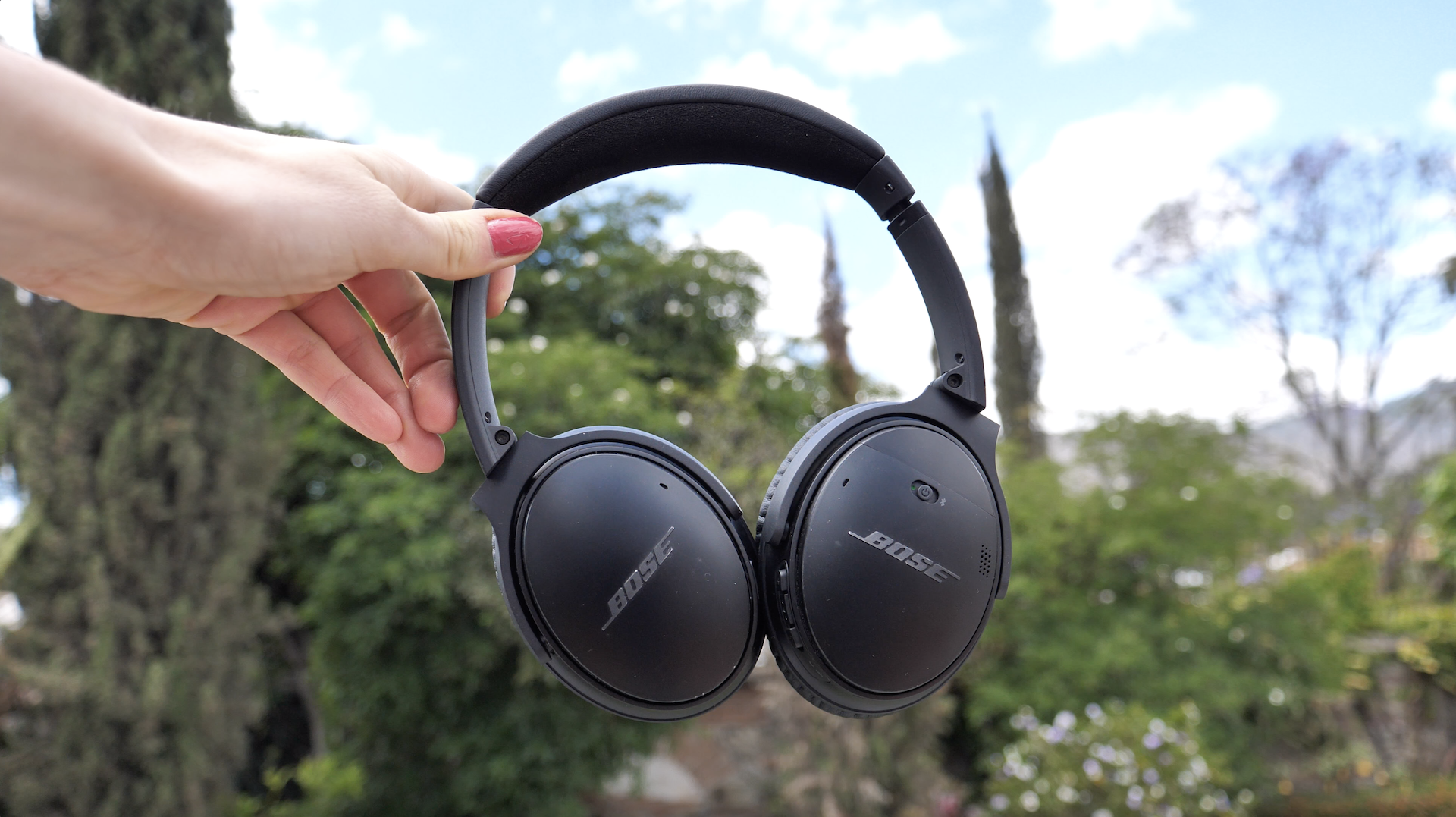 My beloved Bose headphones that I have been traveling with since 2017