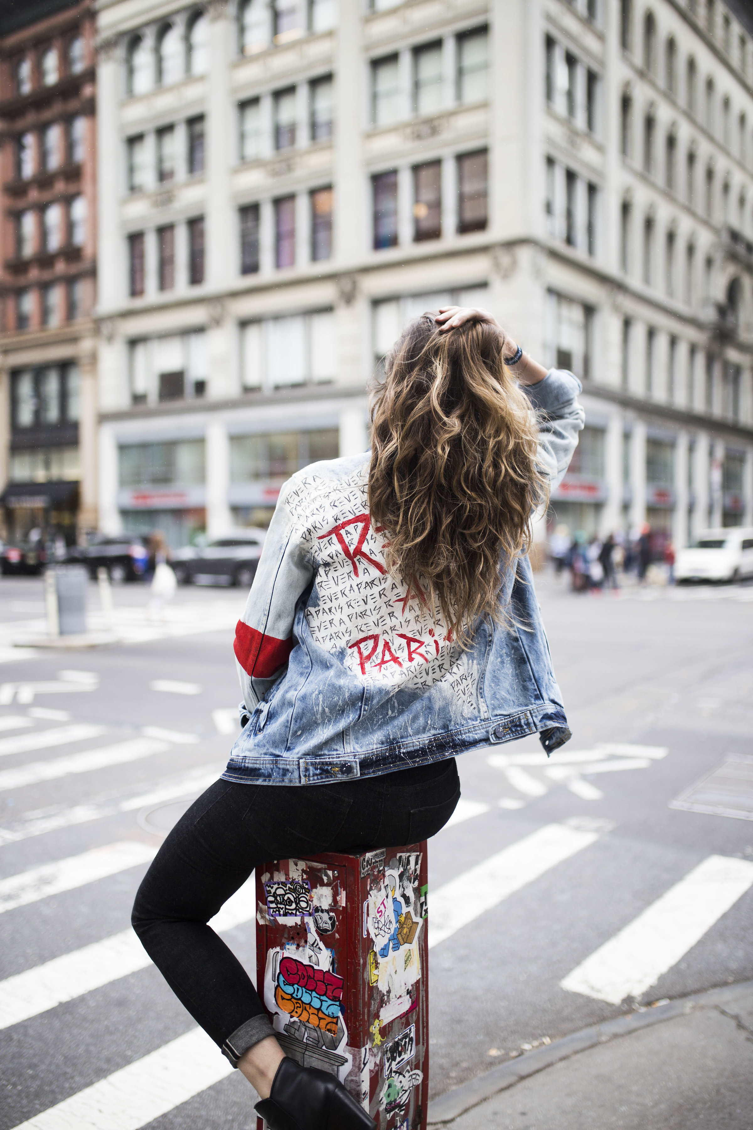 Jacket by  Denim Prive . Photo by  Andrew Downing