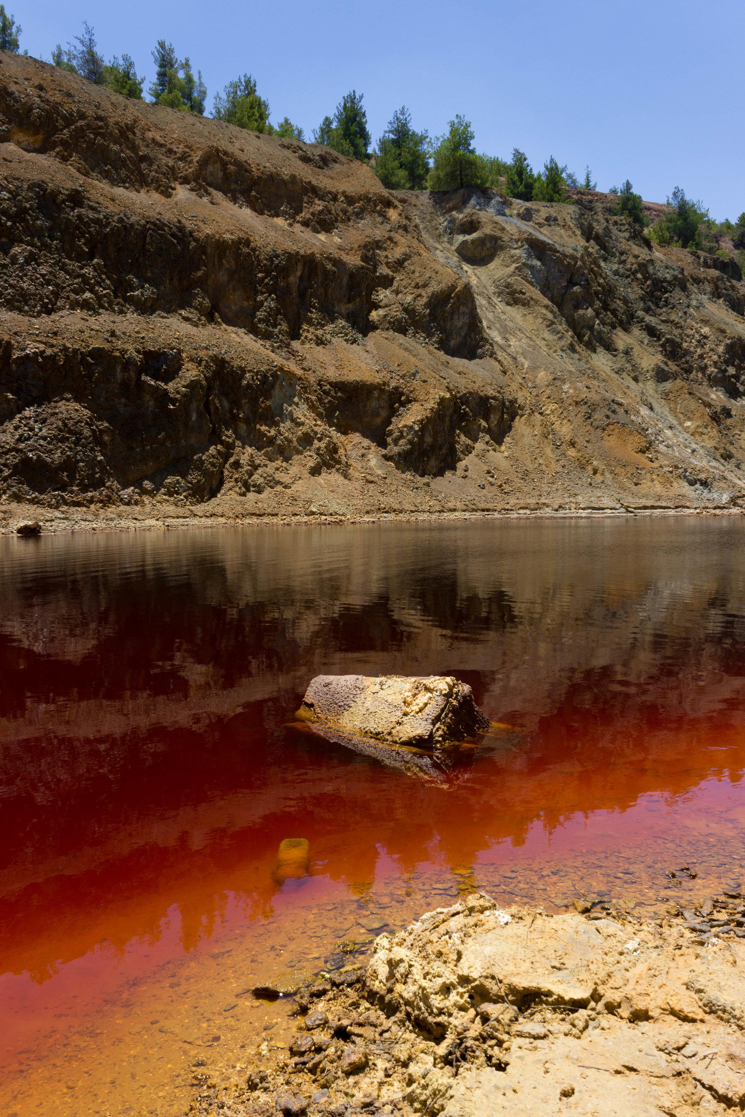 Cyprus's Red Lake — SarahFunky