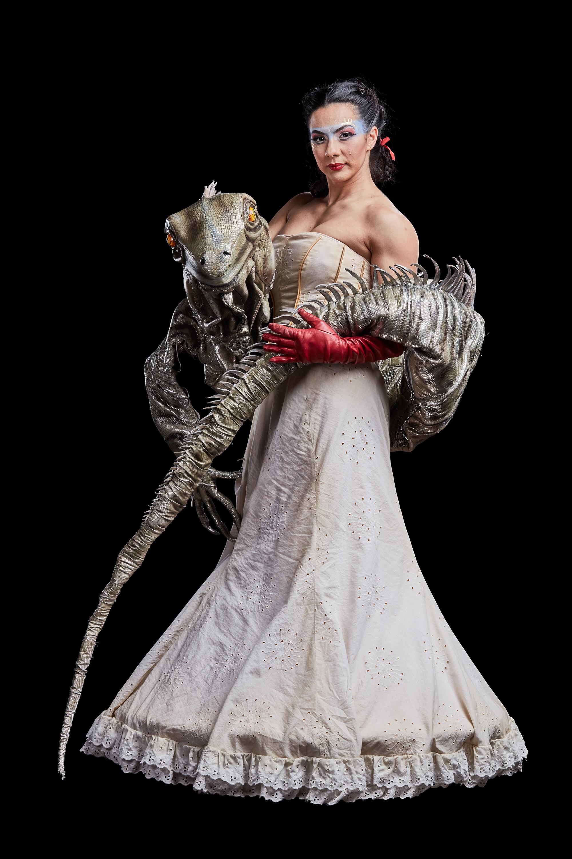 Picture credit: Matt Beard  Costume credit: Giovanna Buzzi / 2016 Cirque du Soleil